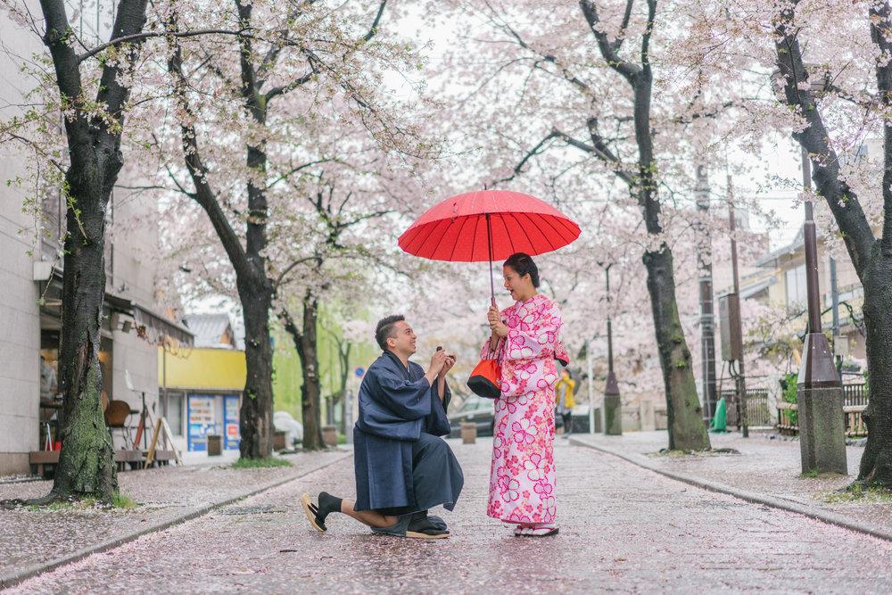 Kyoto, Japan Proposal Photographer - Flytographer