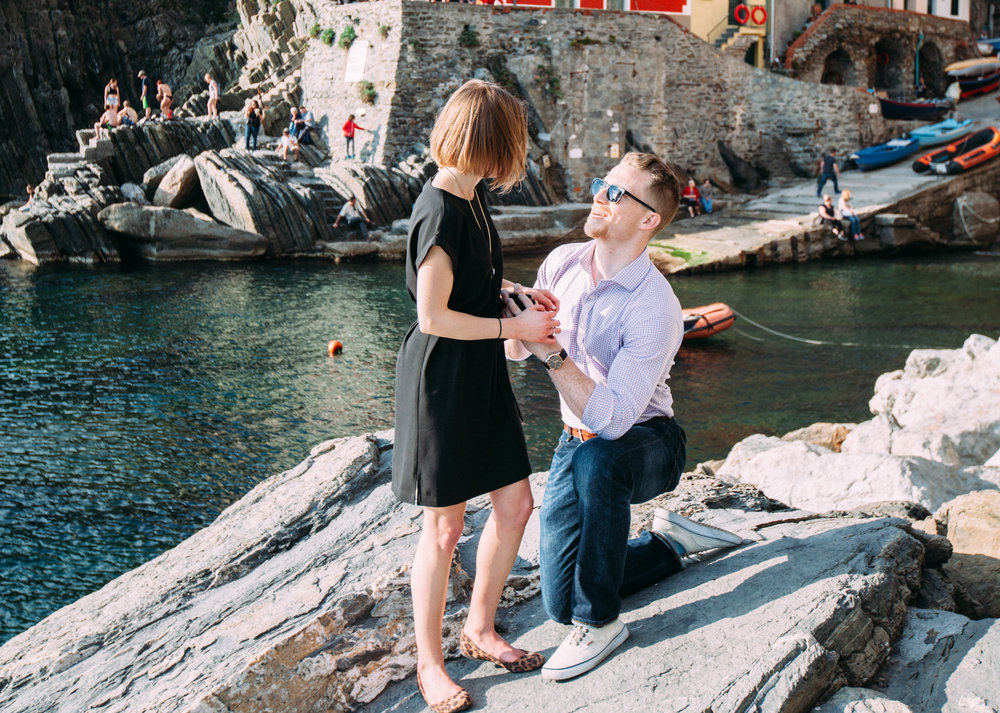 Cinque Terre, Italy Proposal Photographer