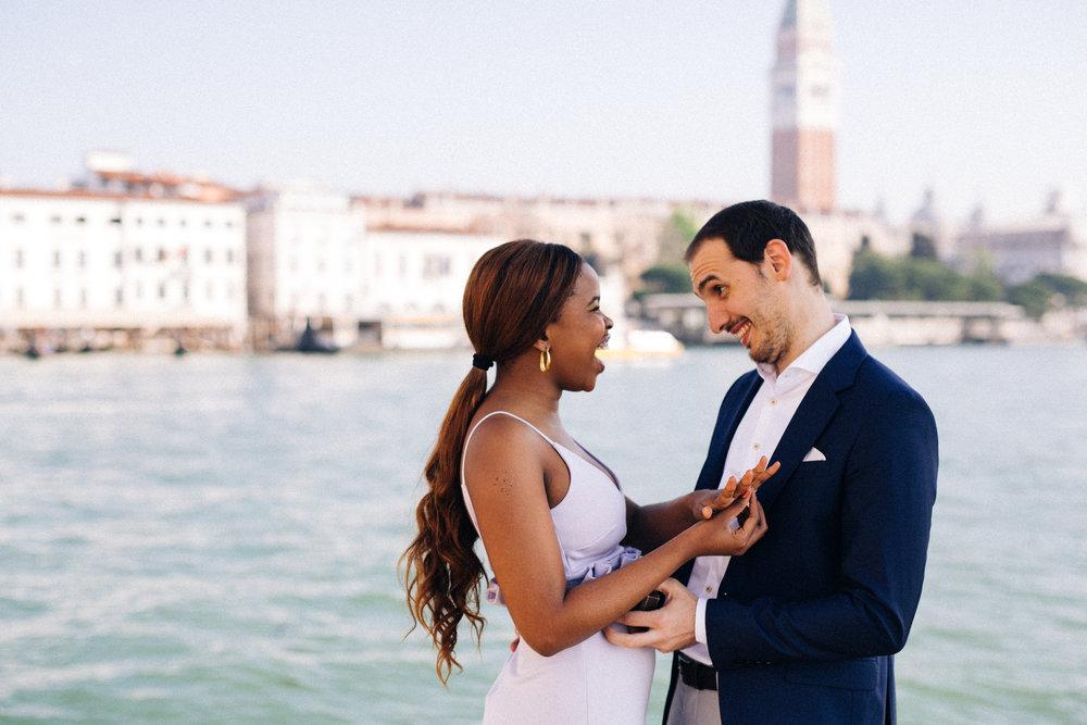 Venice Proposal Photographer - Flytographer