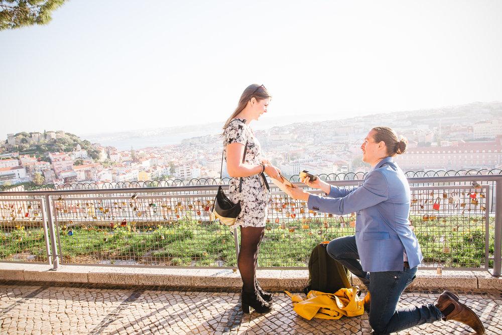 Lisbon Proposal Photographer - Flytographer