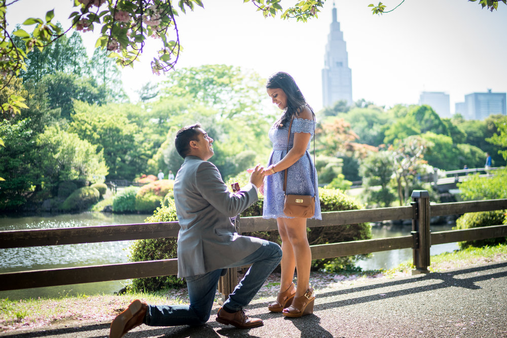 Tokyo proposal photographer - Flytographer