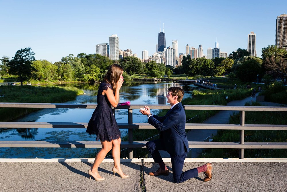 Click to see more of this couple's romantic Chicago proposal on the Flytographer blog! | Travel + Vacation Photographer | Family Vacations | Engagement Proposals | Honeymoons | Anniversary Gifts | Bachelorette Ideas | Solo Traveller Tips |  Flytographer captures your travel memories - everything from surprise proposals, honeymoons, family vacations, and more. So often you are missing out of your own photos! Flytographer solves that problem for you. Our photographers also act as informal tour guides and provide fun local tips to our customers, showing them an area of a city they may not have explored without Flytographer. Book your photographer at 1.888.211.7178 or visit our website at www.flytographer.com/book