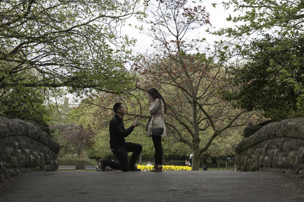 Dublin Proposal Photographer - Flytographer