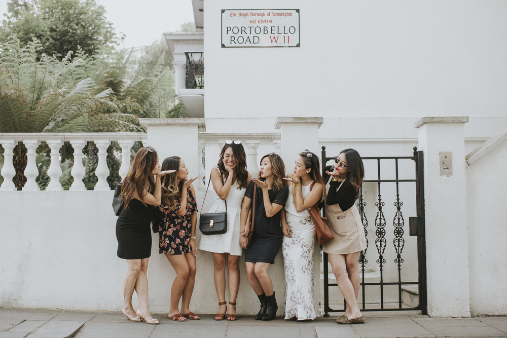 bachelorette party photographer flytographer