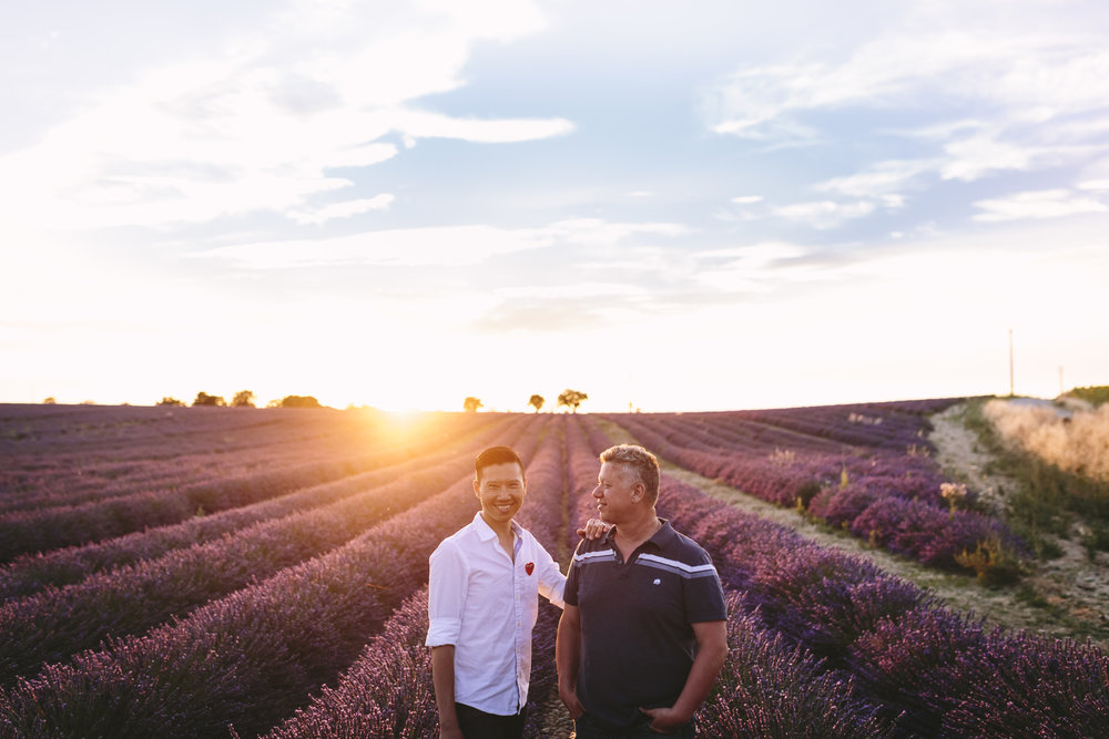 Flytographer Alessio in Provence