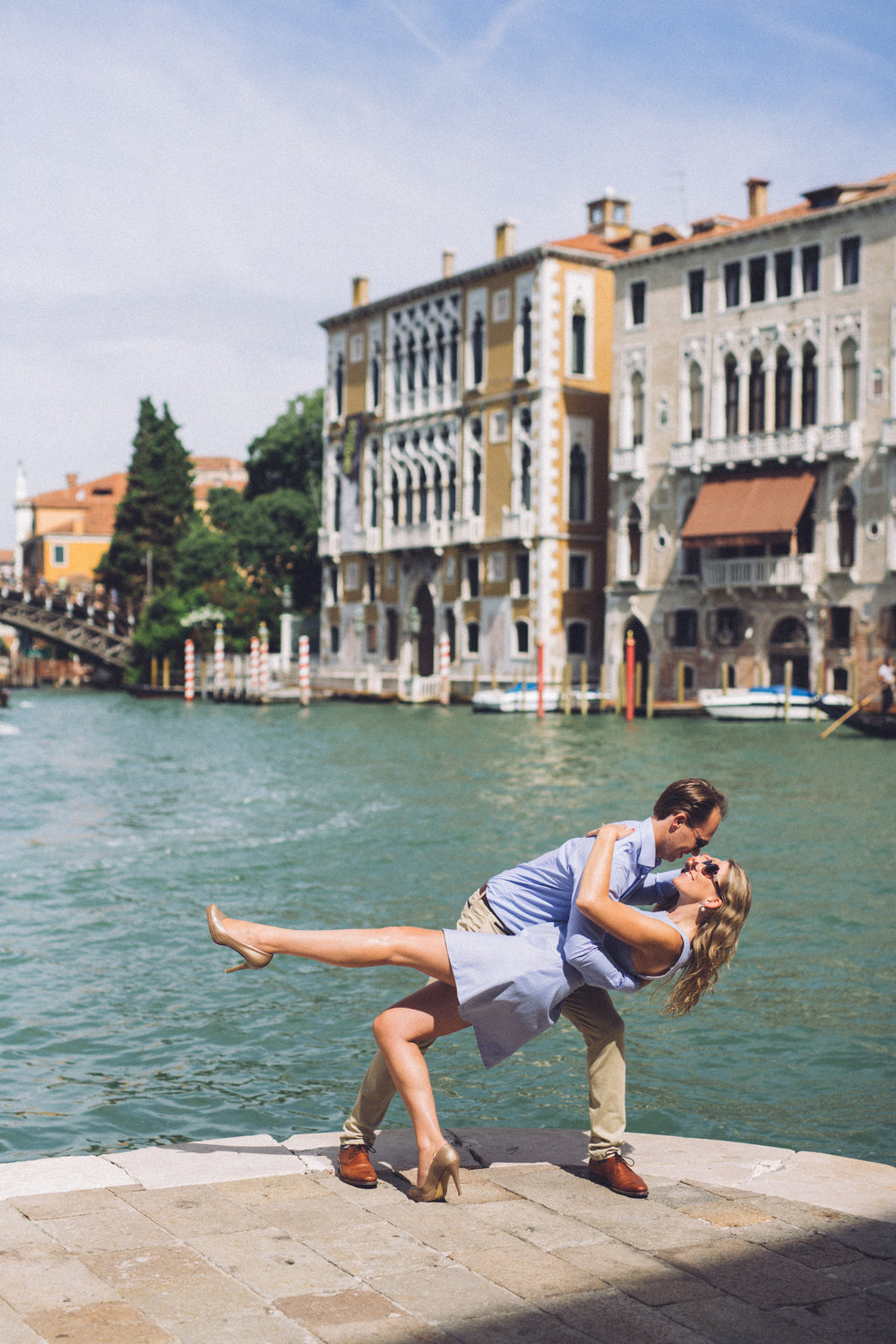 Dreaming of a trip to Venice, Italy? check out 50 photos of the Venice Canals to fuel your wanderlust! | Travel + Vacation Photographer | Family Vacations | Engagement Proposals | Honeymoons | Anniversary Gifts | Bachelorette Ideas | Solo Traveller Tips |  Flytographer captures your travel memories - everything from surprise proposals, honeymoons, family vacations, and more.