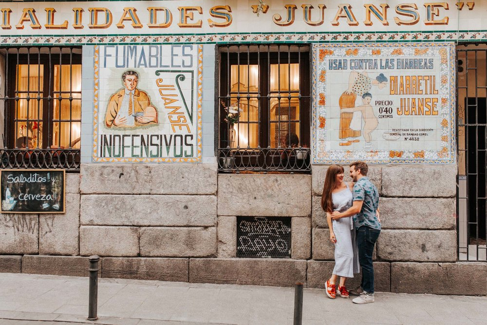 Click to read the top 10 reasons to visit Madrid this summer on the Flytographer blog! | Travel + Vacation Photographer | Family Vacations | Engagement Proposals | Honeymoons | Anniversary Gifts | Bachelorette Ideas | Solo Traveller Tips |  Flytographer captures your travel memories - everything from surprise proposals, honeymoons, family vacations, and more. So often you are missing out of your own photos! Flytographer solves that problem for you. Our photographers also act as informal tour guides and provide fun local tips to our customers, showing them an area of a city they may not have explored without Flytographer. Book your photographer at 1.888.211.7178 or visit our website at www.flytographer.com/book