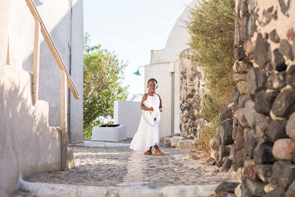 Click to see a family vacation in beautiful Santorini on the Flytographer blog! | Travel + Vacation Photographer | Family Vacations | Engagement Proposals | Honeymoons | Anniversary Gifts | Bachelorette Ideas | Solo Traveller Tips |  Flytographer captures your travel memories - everything from surprise proposals, honeymoons, family vacations, and more. So often you are missing out of your own photos! Flytographer solves that problem for you. Our photographers also act as informal tour guides and provide fun local tips to our customers, showing them an area of a city they may not have explored without Flytographer. Book your photographer at 1.888.211.7178 or visit our website at www.flytographer.com/book