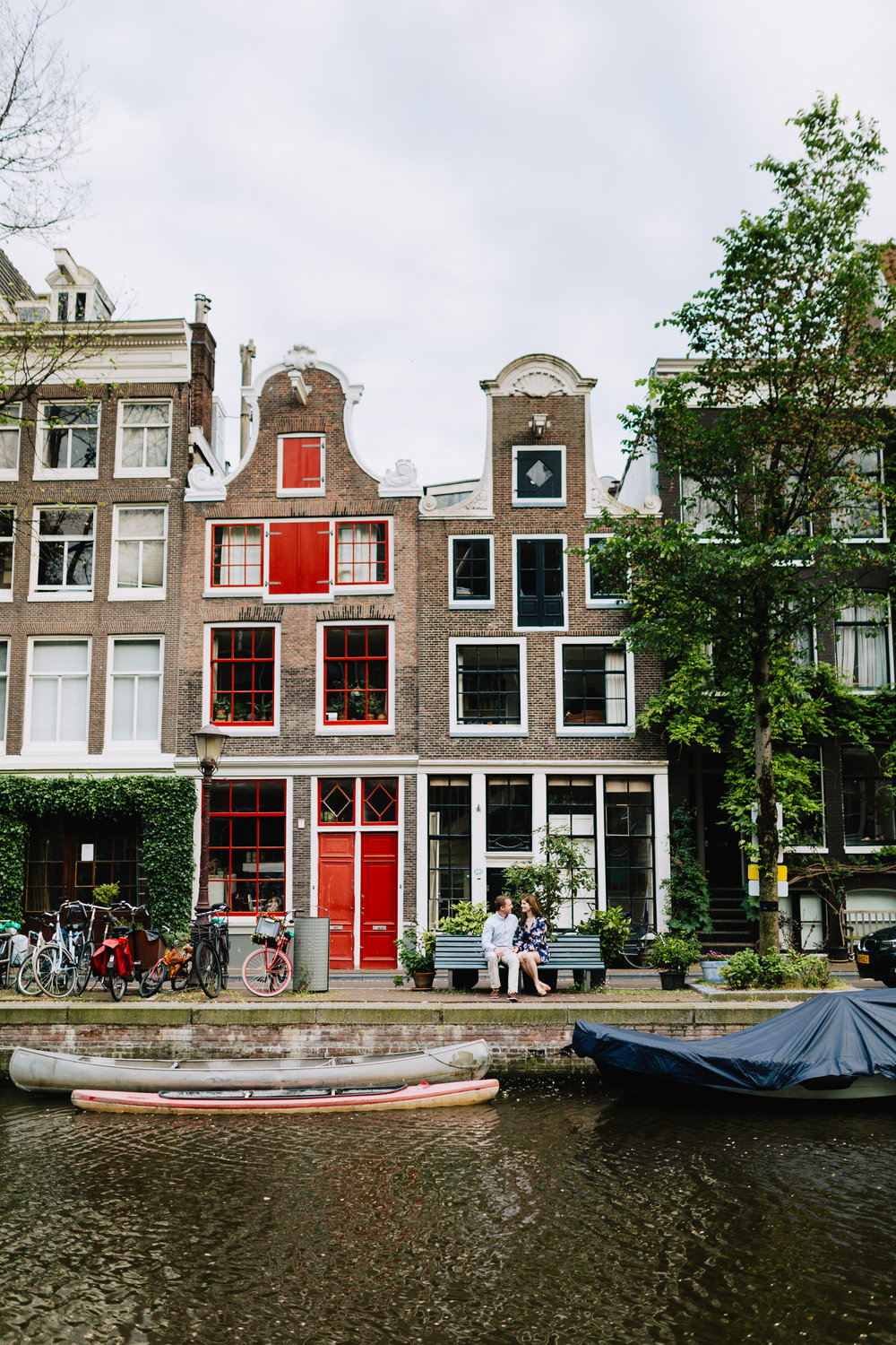 Get inspired for your vacation to the Netherlands by checking out Flytographer's roundup of the 30 best photos of the Amsterdam Canals | Hire a Vacation Photographer with Flytographer