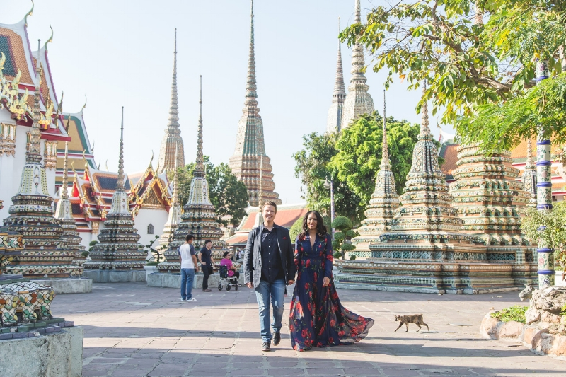 Flytographer Erin in Bangkok