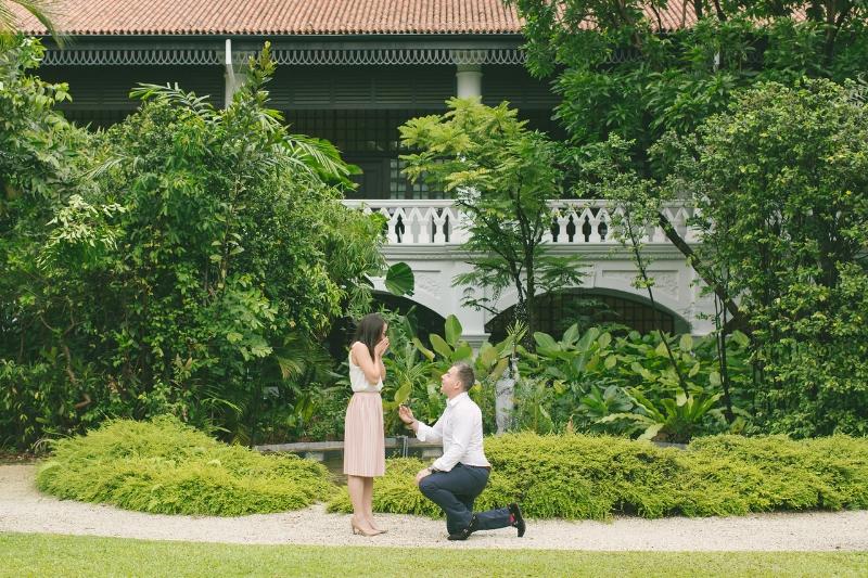 Flytographers Michelle & Alvin in Singapore