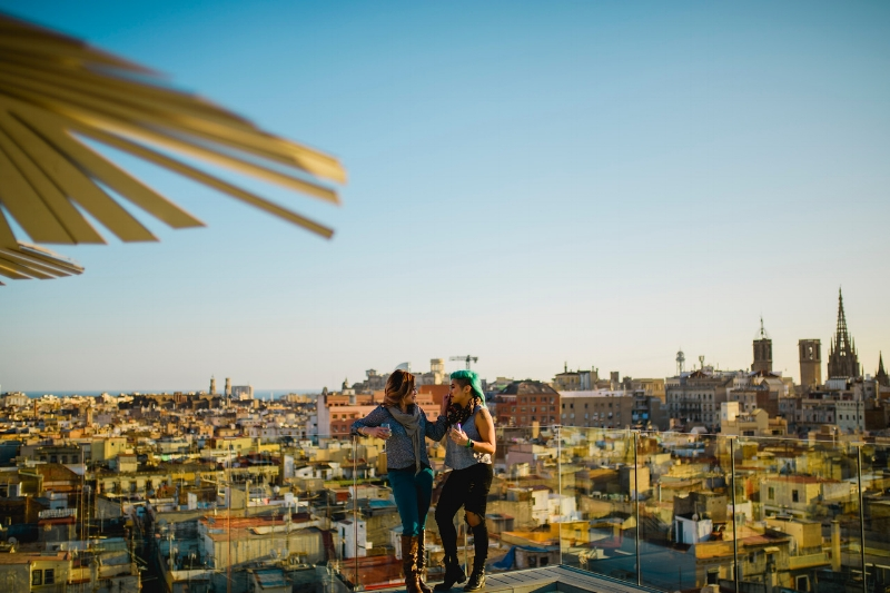 Flytographer Orlando in Barcelona