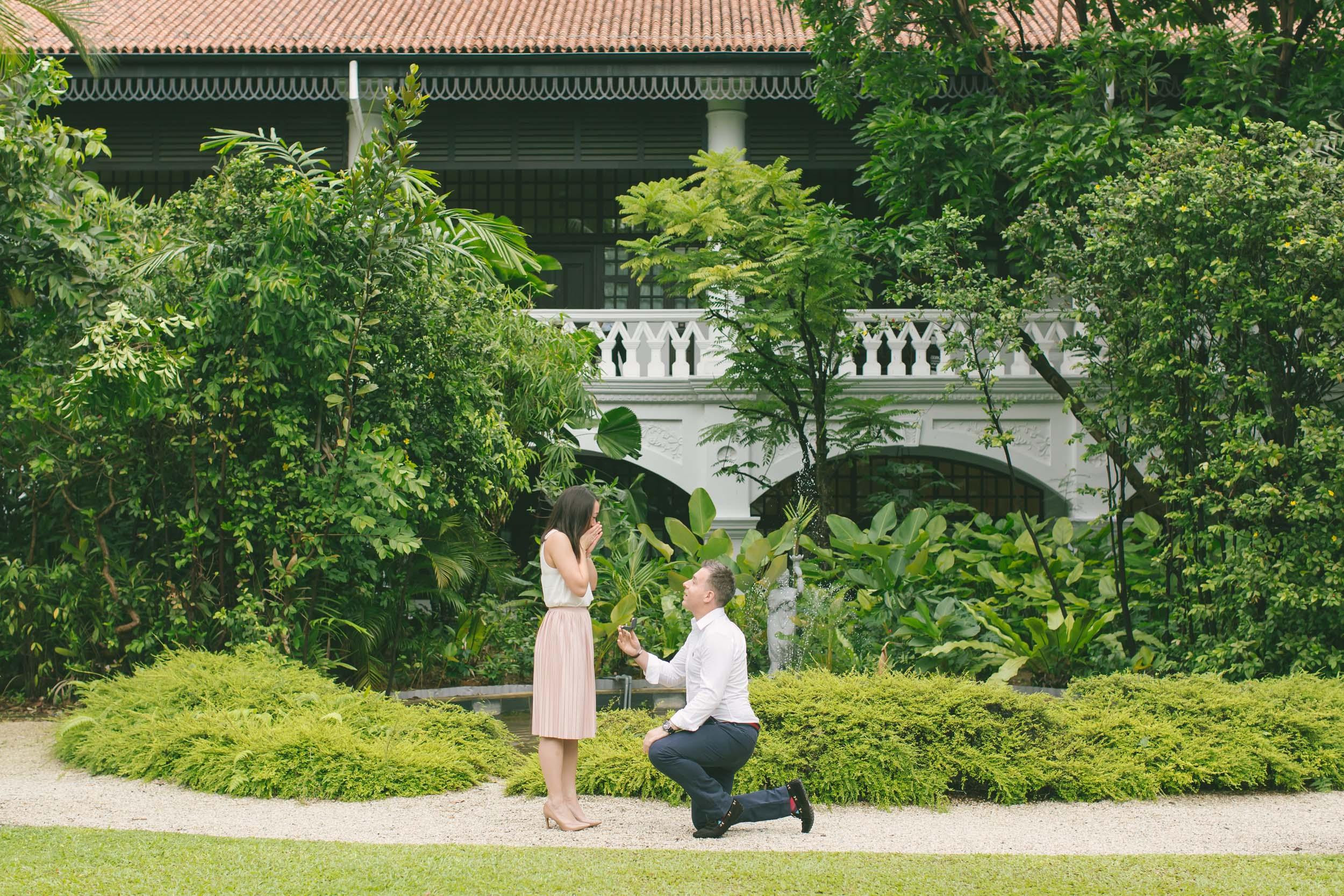 A Gorgeous Singapore Proposal Full Of Epic Surprises Flytographer