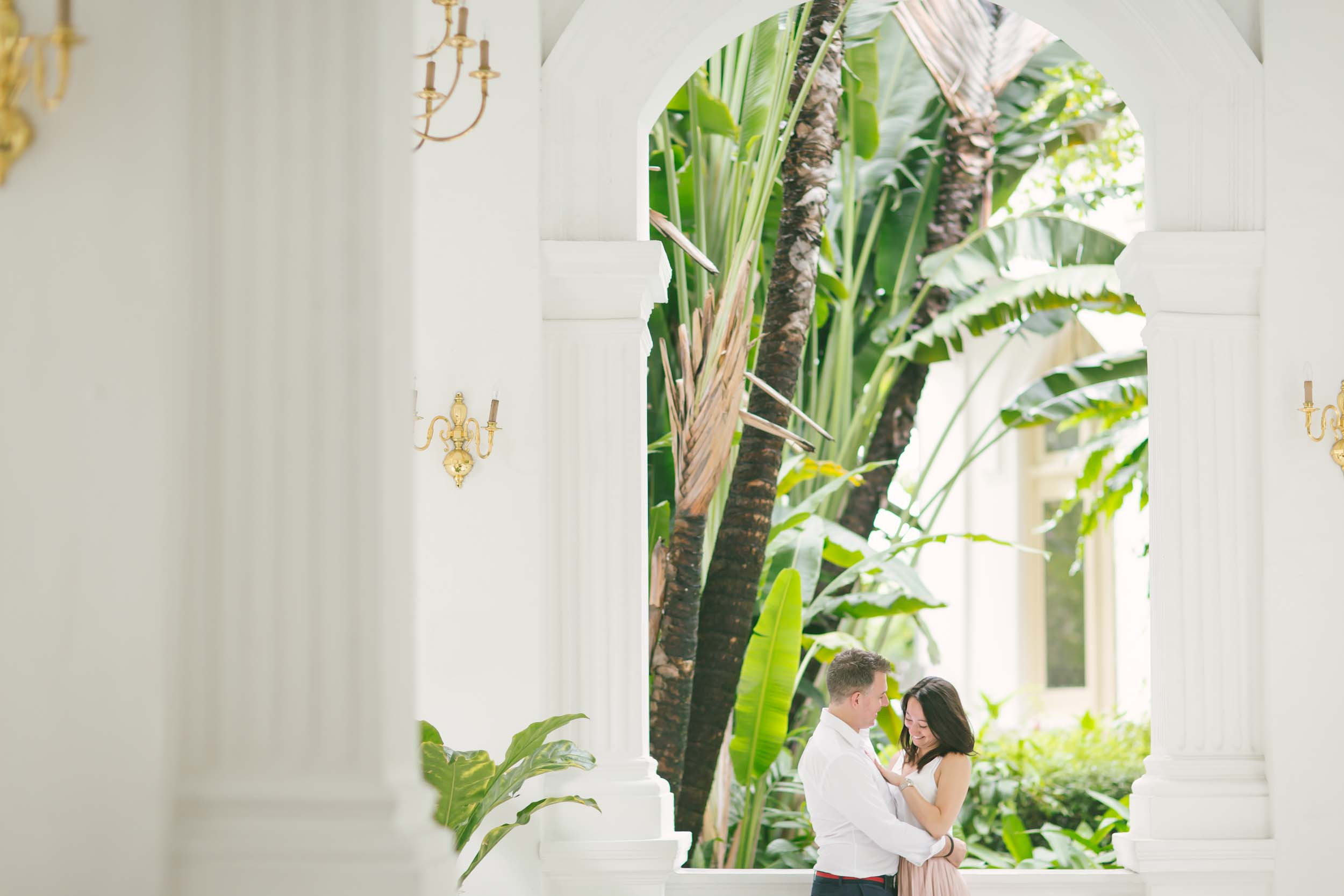 Flytographers:  Michelle & Alvin in Singapore