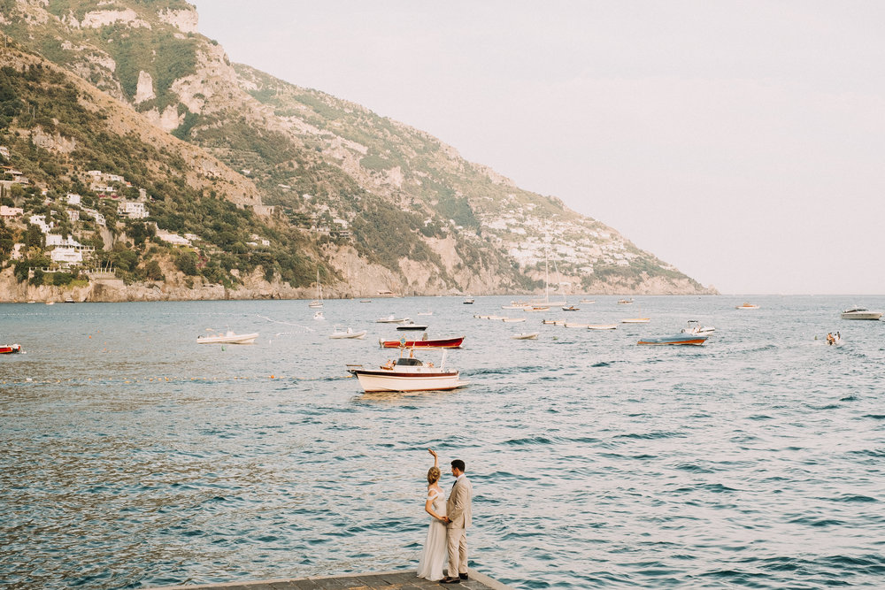 Dreaming of a stunning Italian getaway? Take a look at 50 breathtaking photos from the Amalfi Coast to fuel your wanderlust! | Travel + Vacation Photographer | Flytographer captures your travel memories - everything from surprise proposals, honeymoons, family vacations, and more.