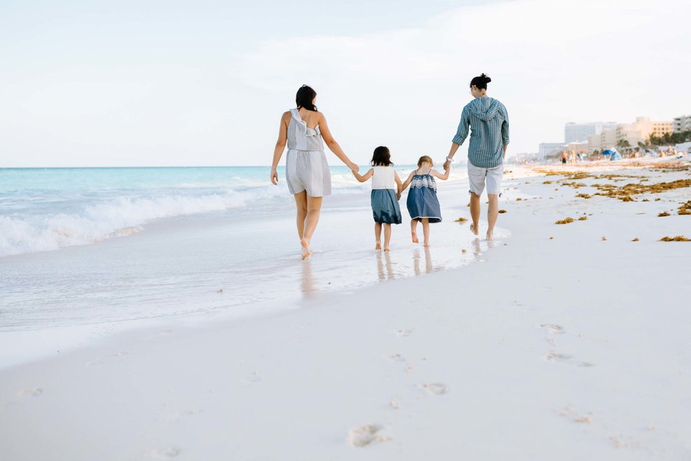 Check out these adorable Cancun beach family photos on the Flytographer blog and get inspired for your next trip! | Travel + Vacation Photographer | Family Vacations | Engagement Proposals | Honeymoons | Anniversary Gifts | Bachelorette Ideas | Solo Traveller Tips |  Flytographer captures your travel memories - everything from surprise proposals, honeymoons, family vacations, and more. So often you are missing out of your own photos! Flytographer solves that problem for you. Our photographers also act as informal tour guides and provide fun local tips to our customers, showing them an area of a city they may not have explored without Flytographer. Book your photographer at 1.888.211.7178 or visit our website at www.flytographer.com/book