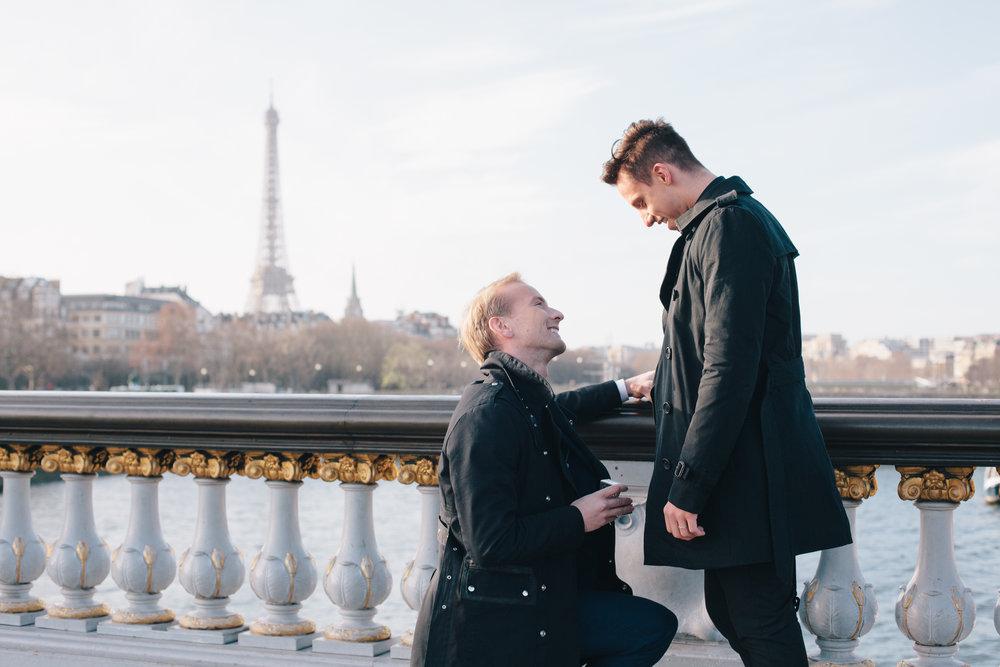 Paris Proposal Photographer Capture Your Surprise Proposal In