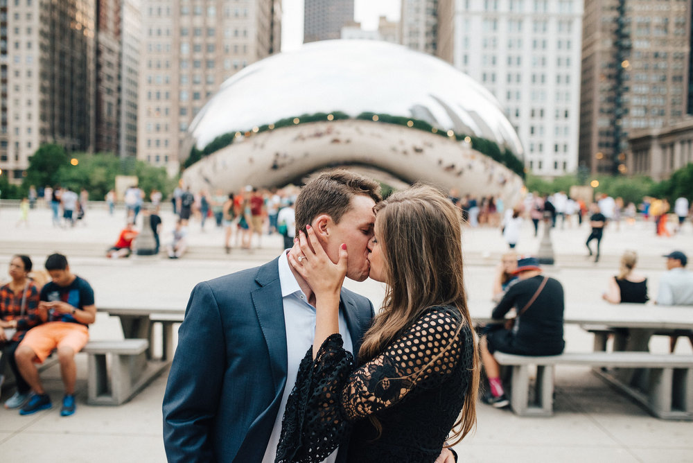 Chicago Proposal Photographer Capture Your Surprise Proposal In