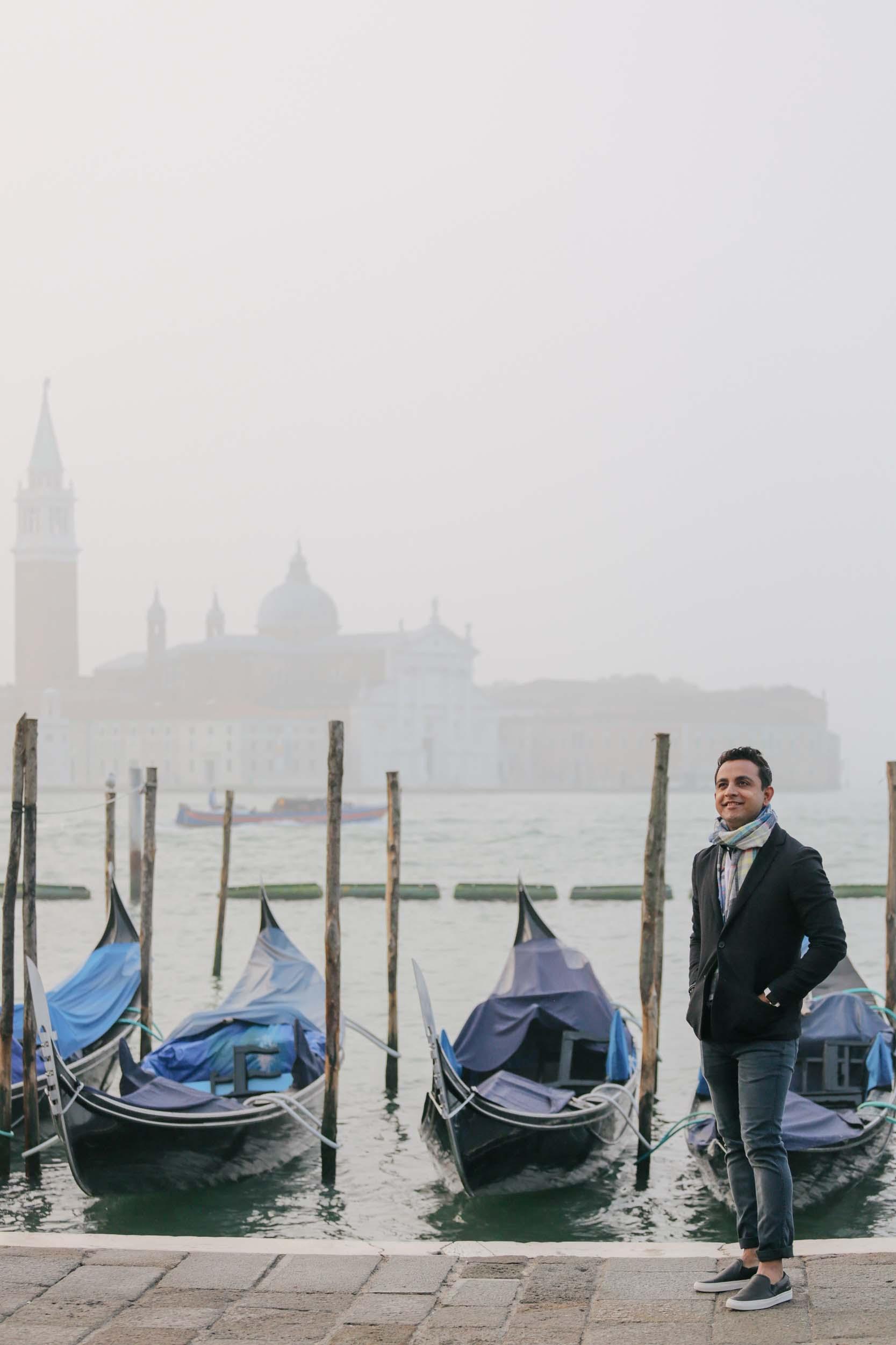 Flytographer Marta in Venice