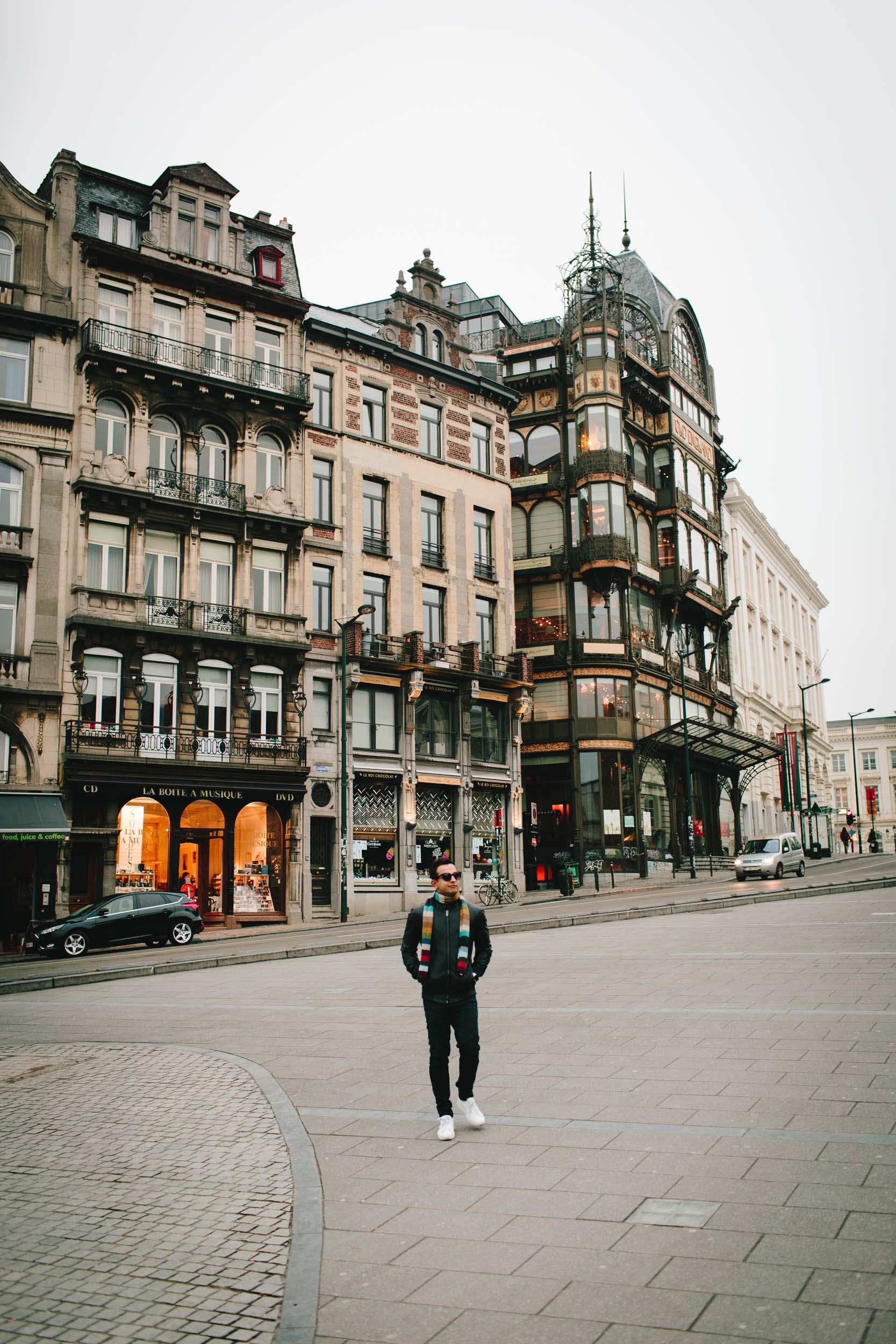 Flytographer Elke in Brussels