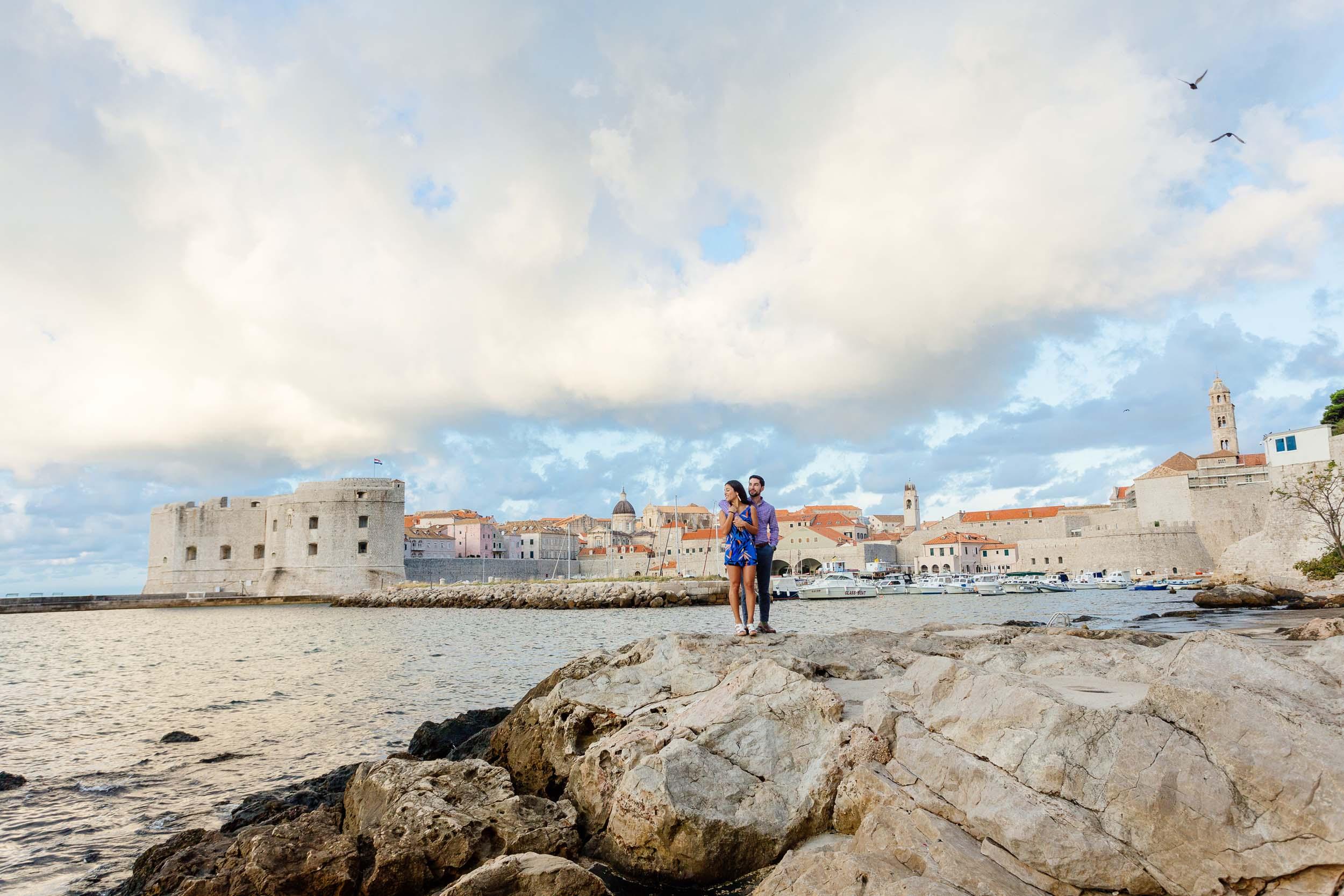 Flytographer Božo in Dubrovnik