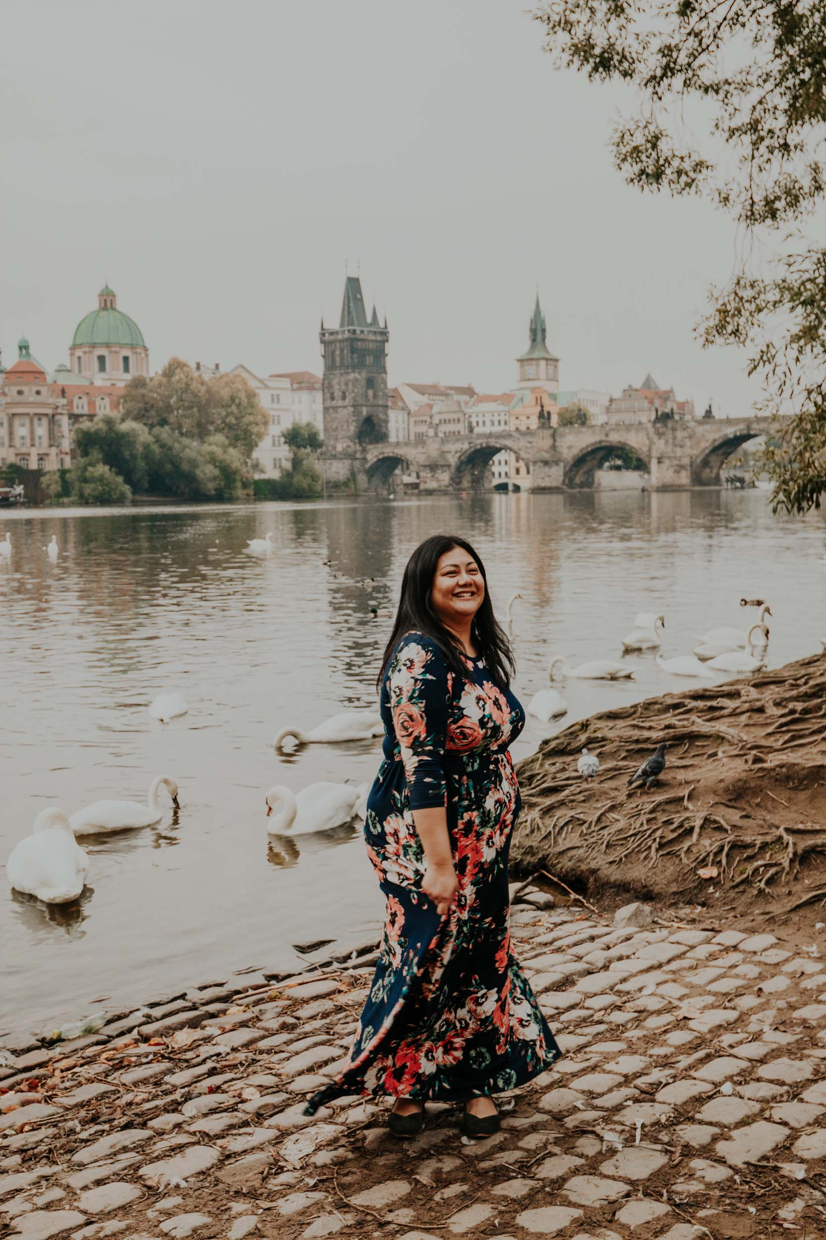 Flytographer Natalie in Prague