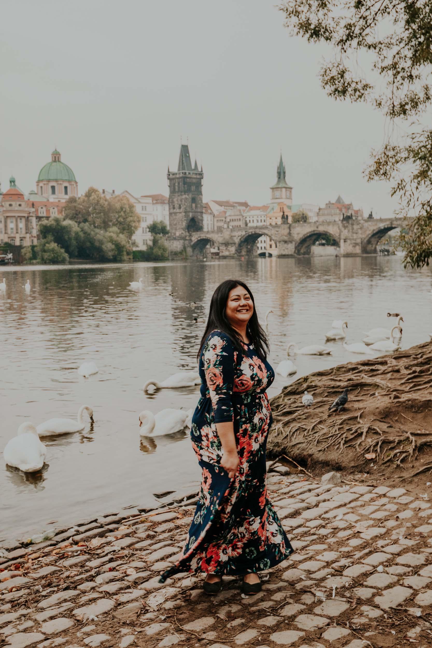 Flytographer Natalie in Prague