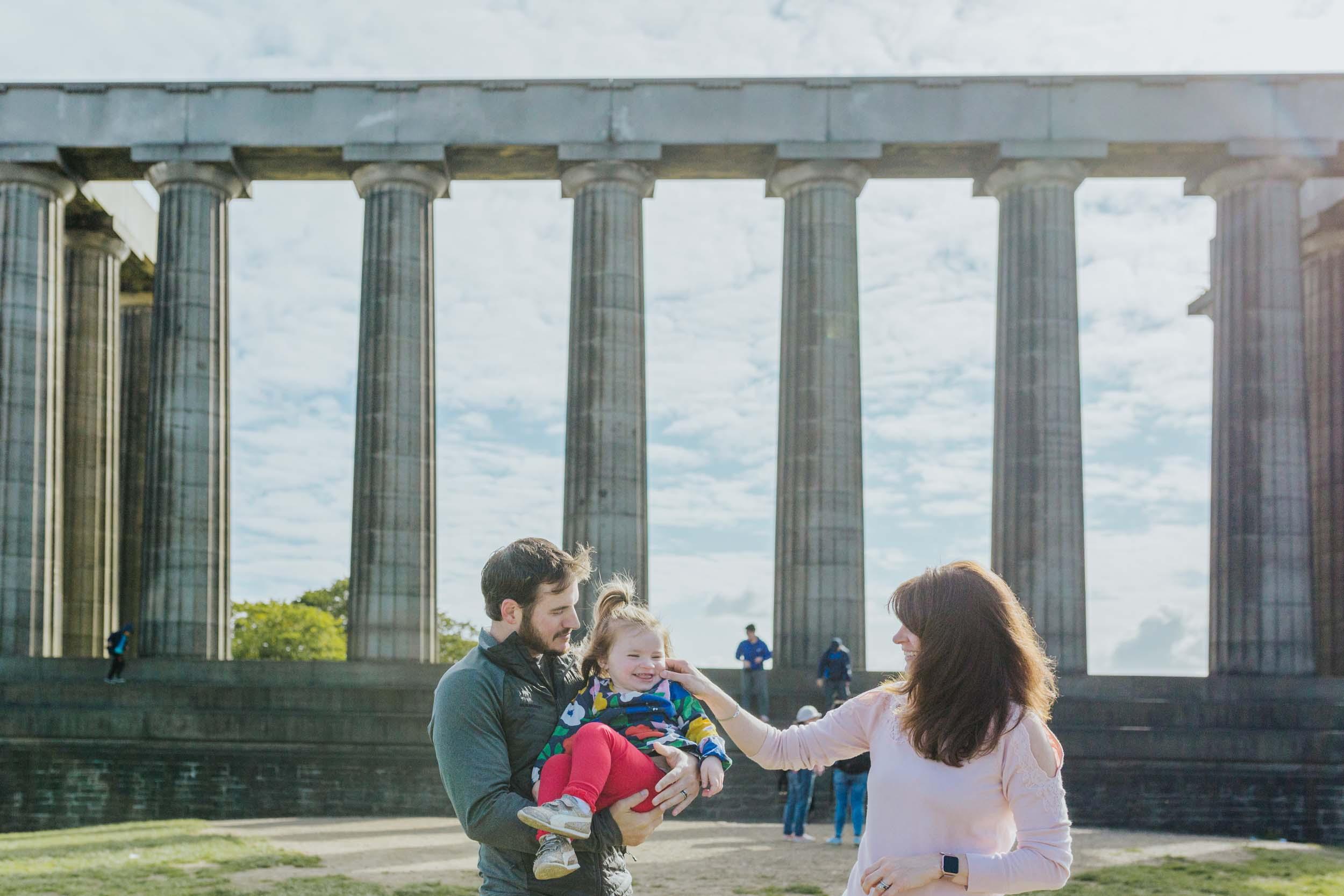 Flytographer Fiona in Edinburgh
