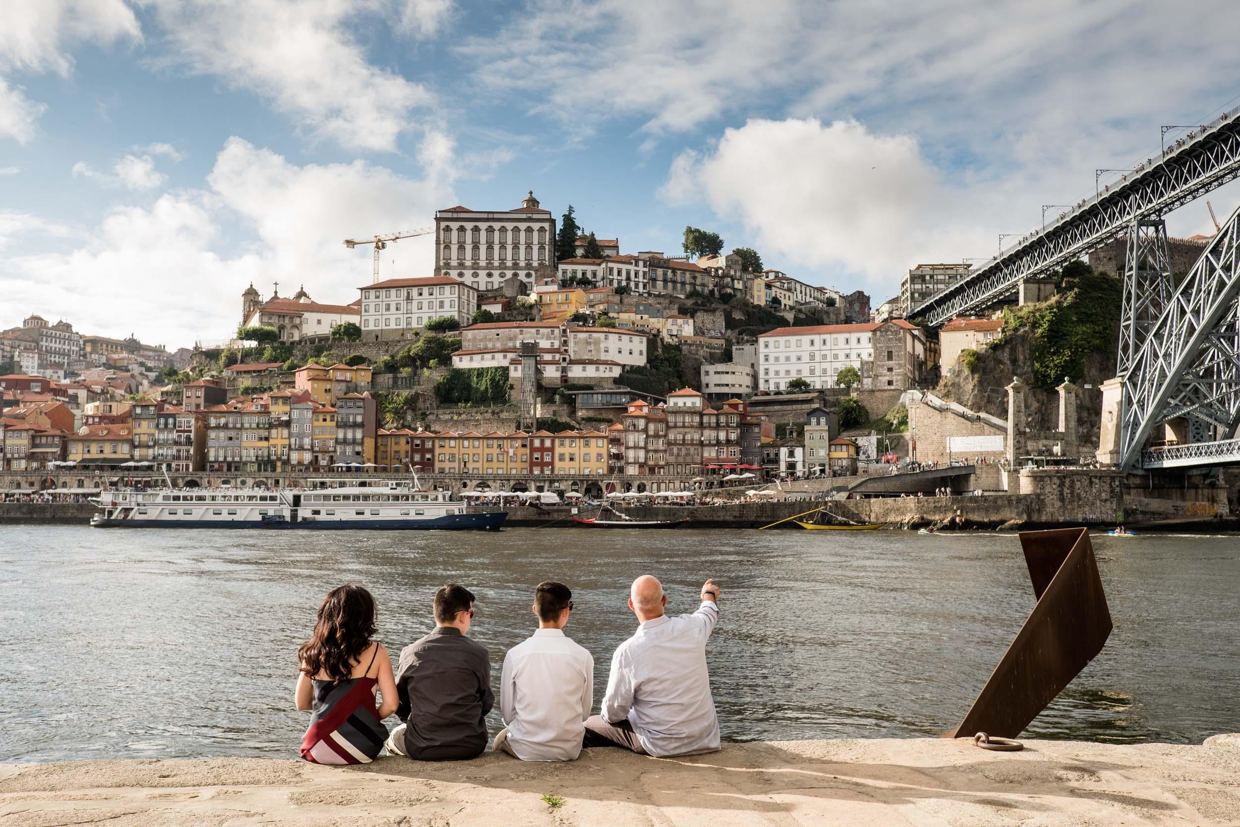 Flytographers Luis & Marta in Porto