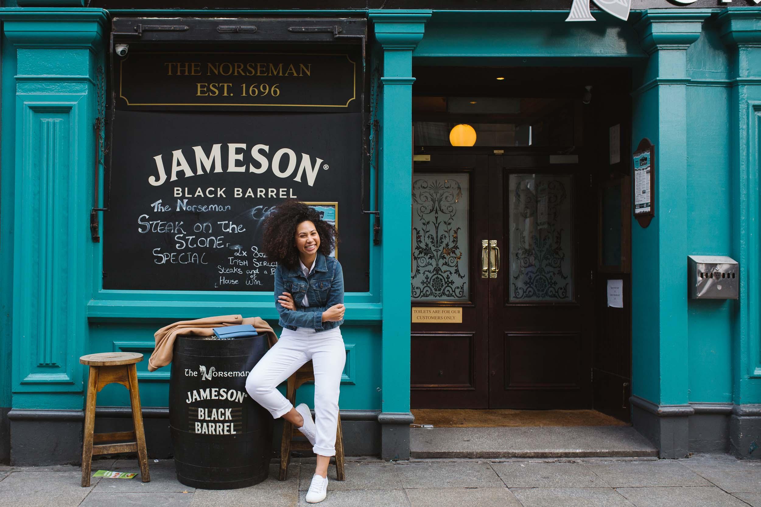 Flytographer Vanessa in Dublin