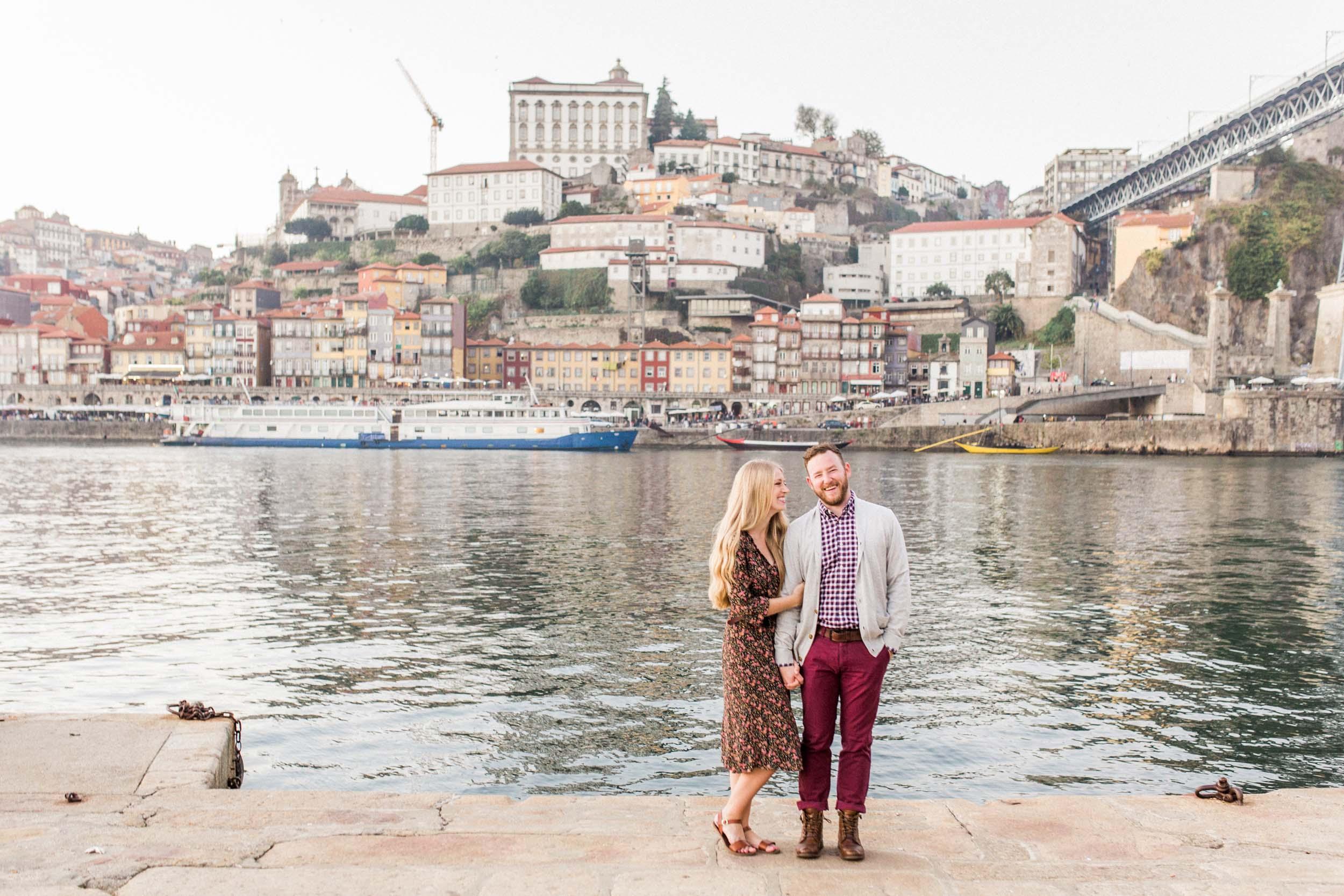 Flytographers Ivo & Vanessa in Porto