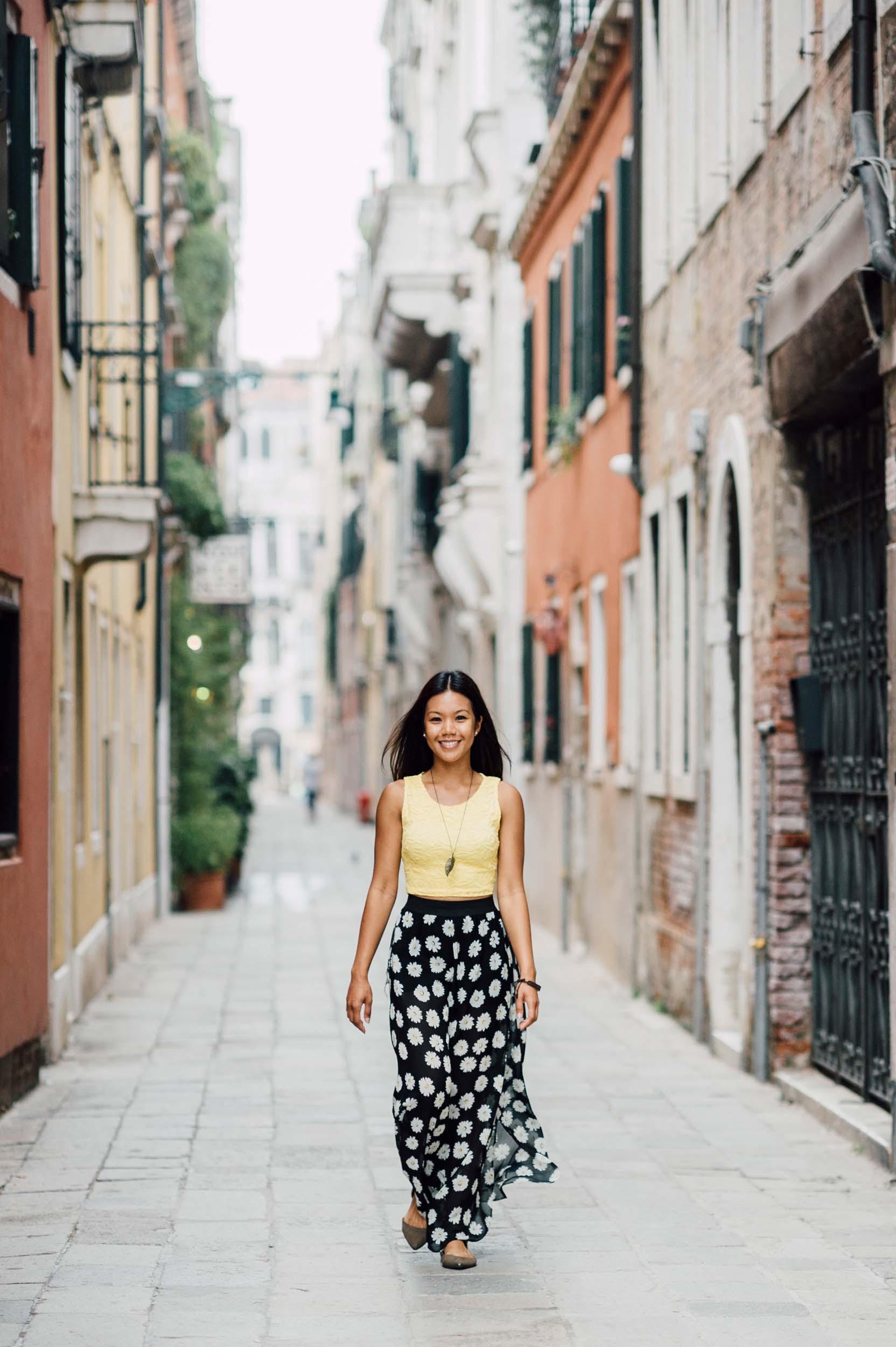 Flytographer Serena in Venice