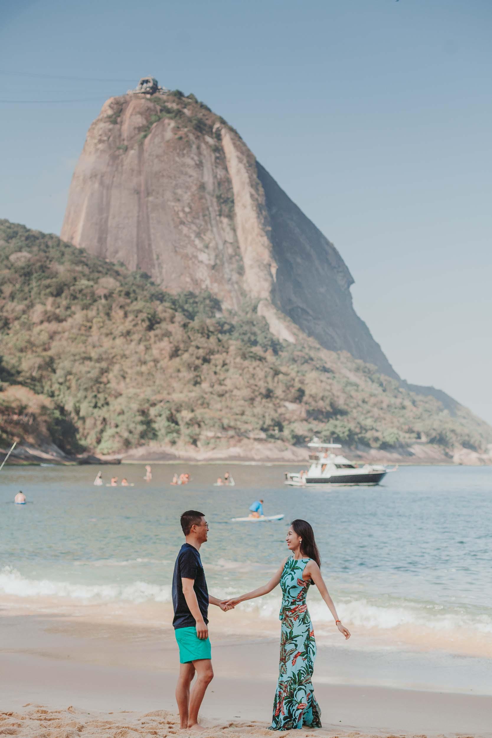 Flytographer Ana in Rio de Janeiro