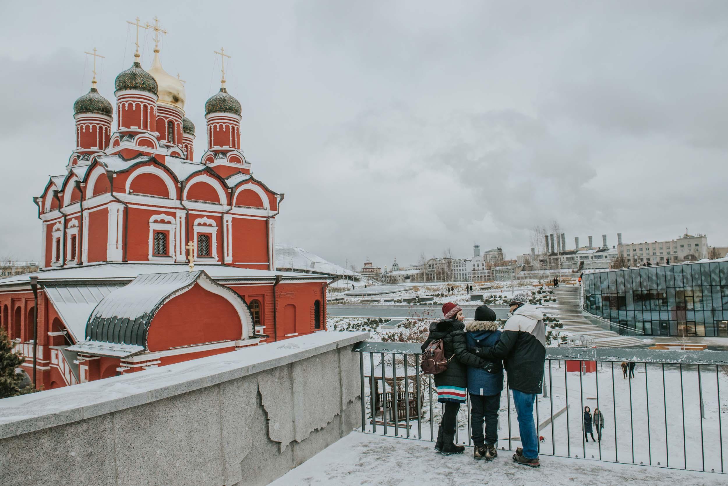 Flytographer Deborah in Moscow