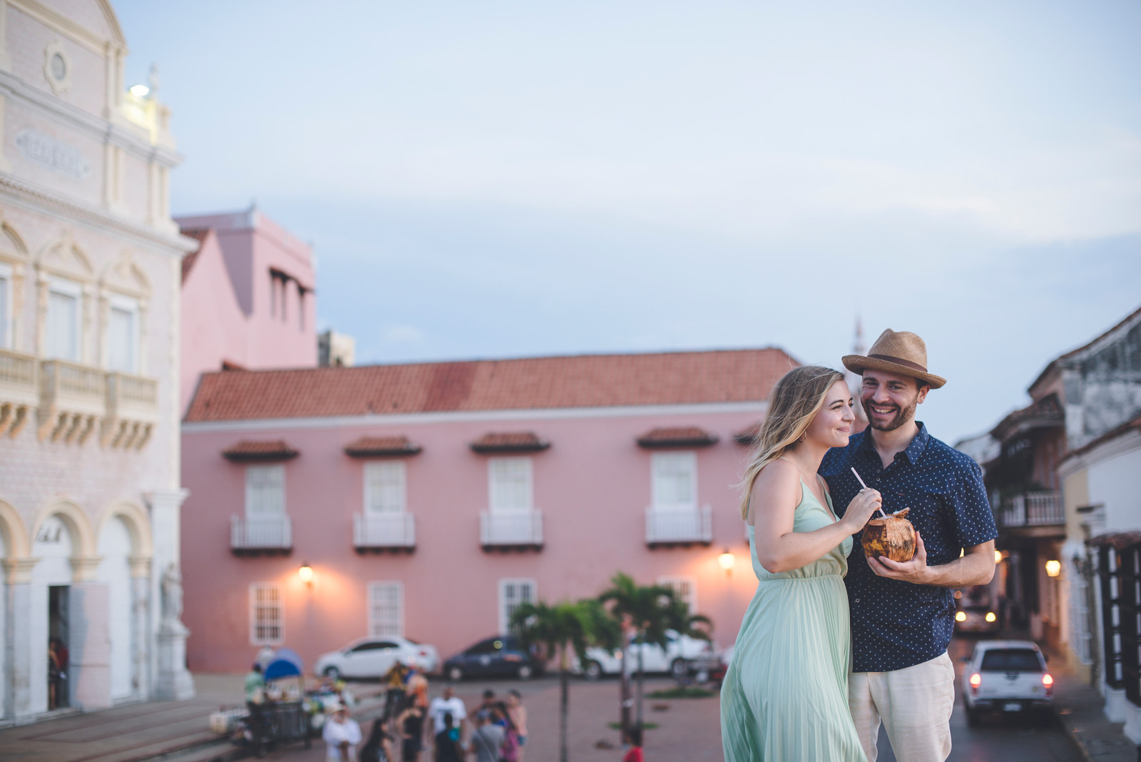 Flytographer Juan Felipe in Cartagena