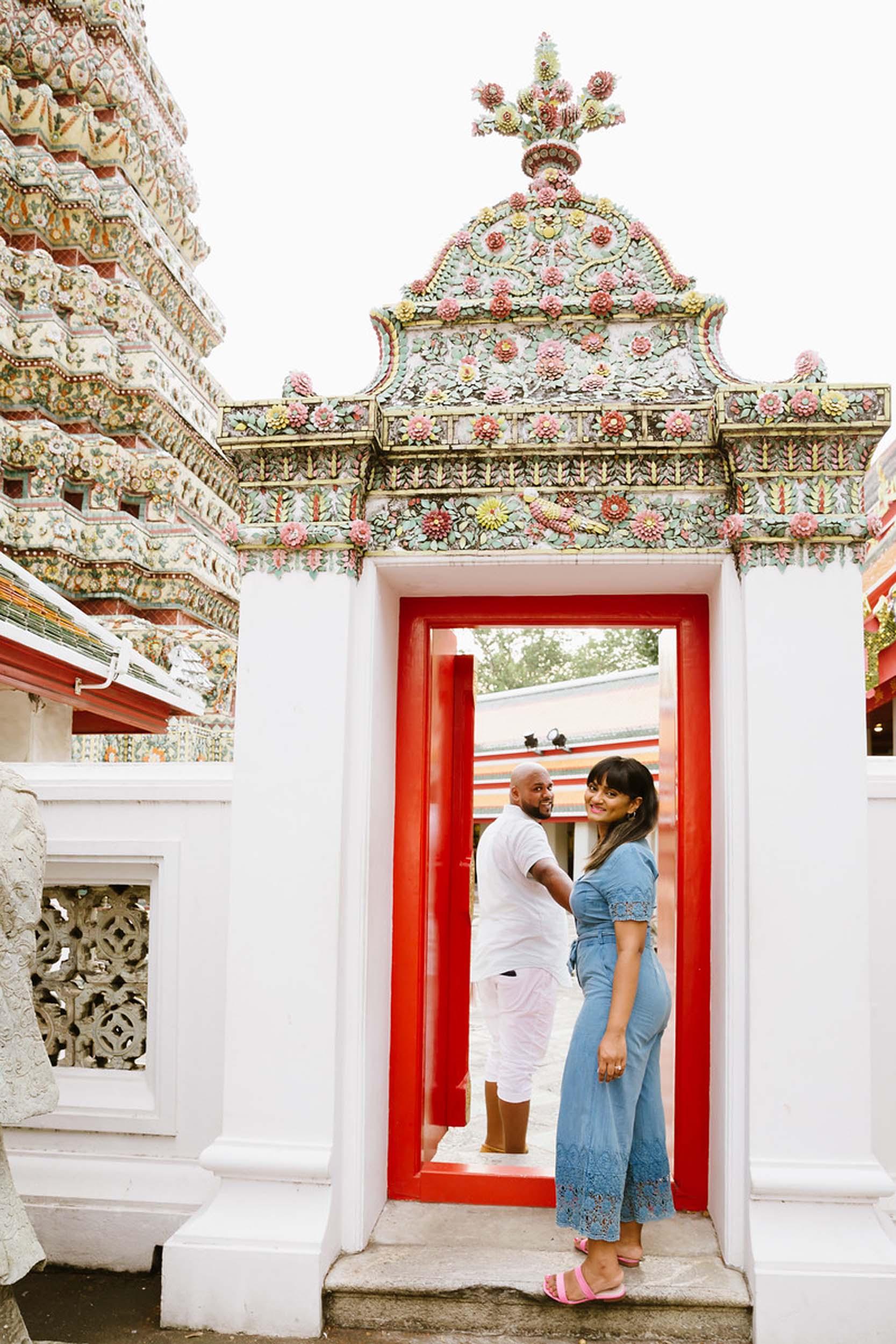 Flytographer Natasha in Bangkok