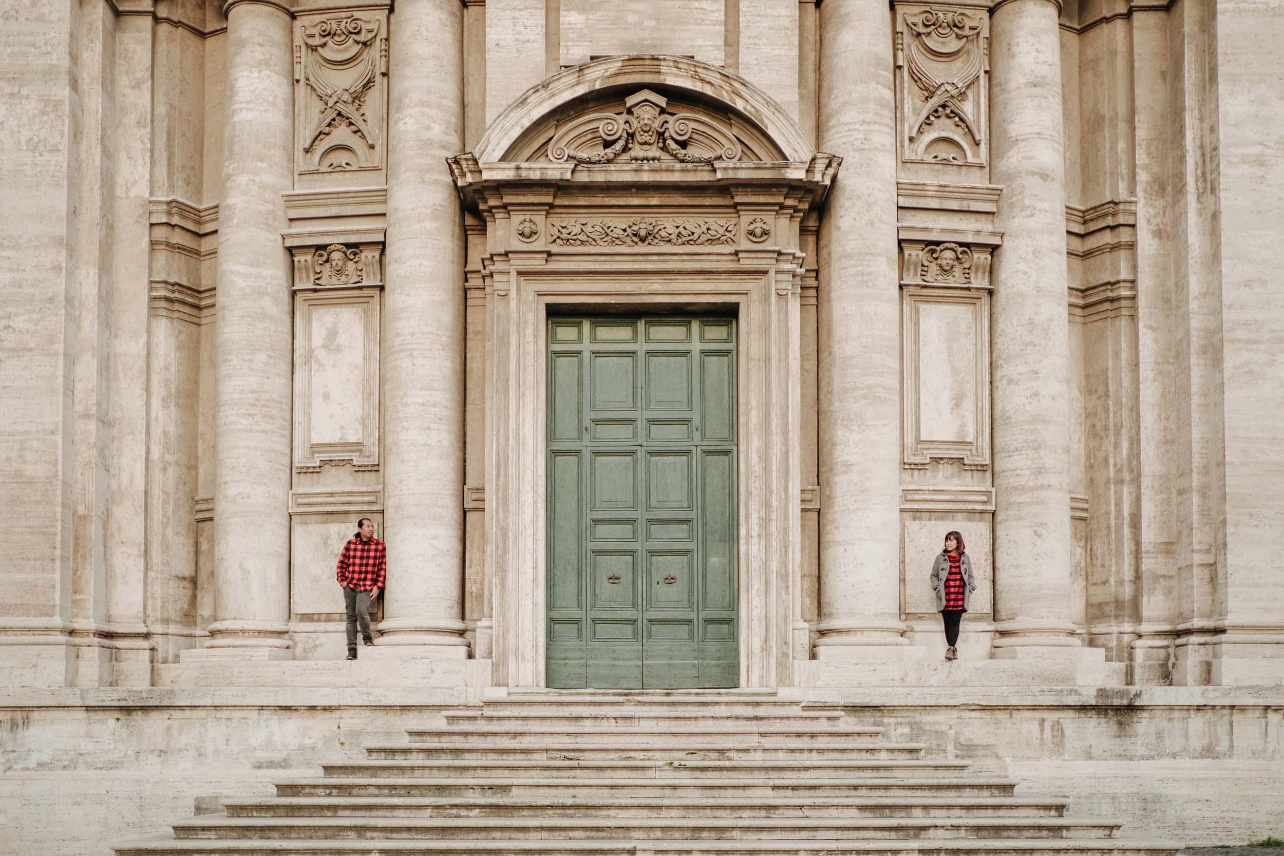 Flytographer Roberta in Rome