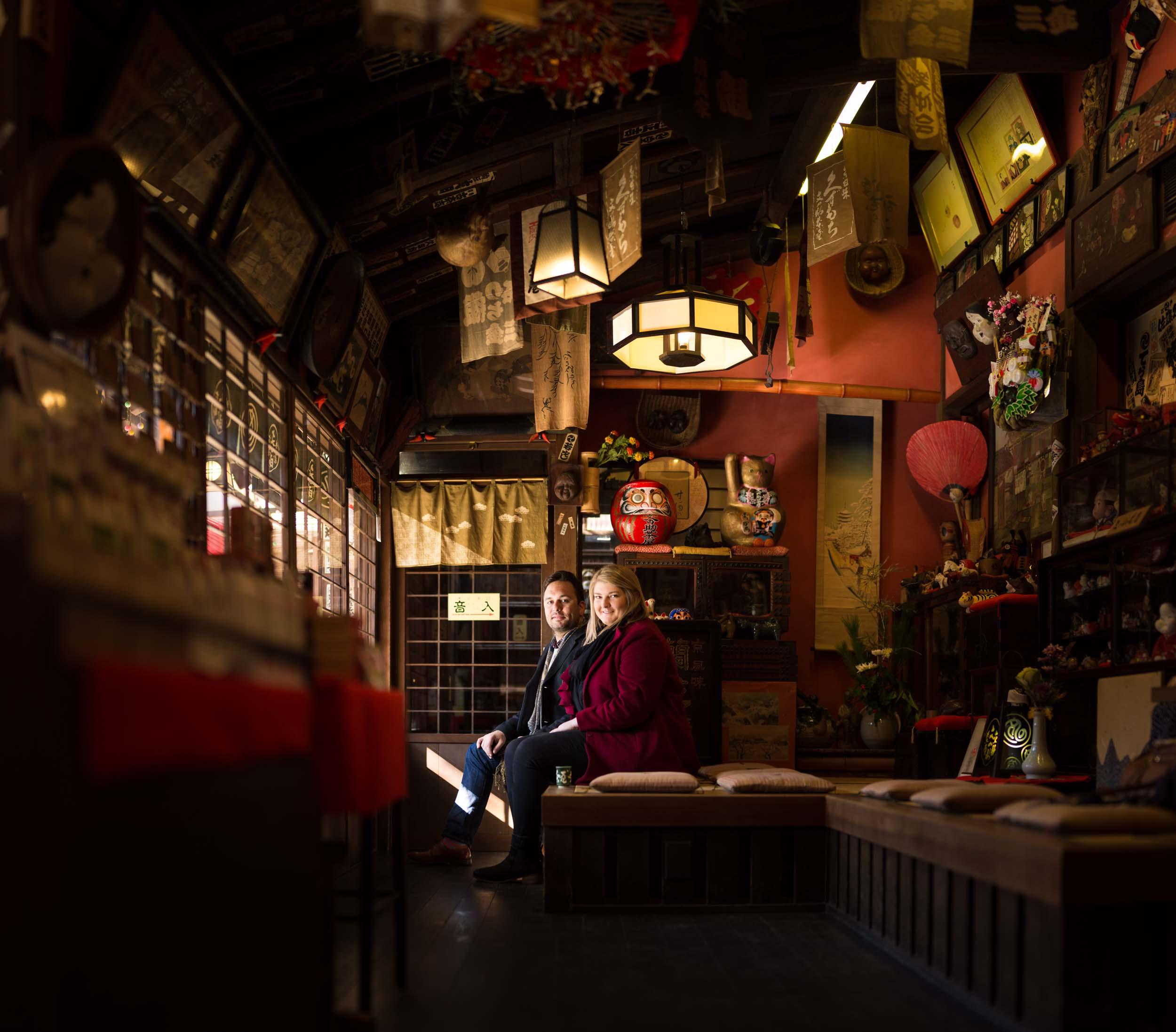 Flytographer Lucas in Kyoto