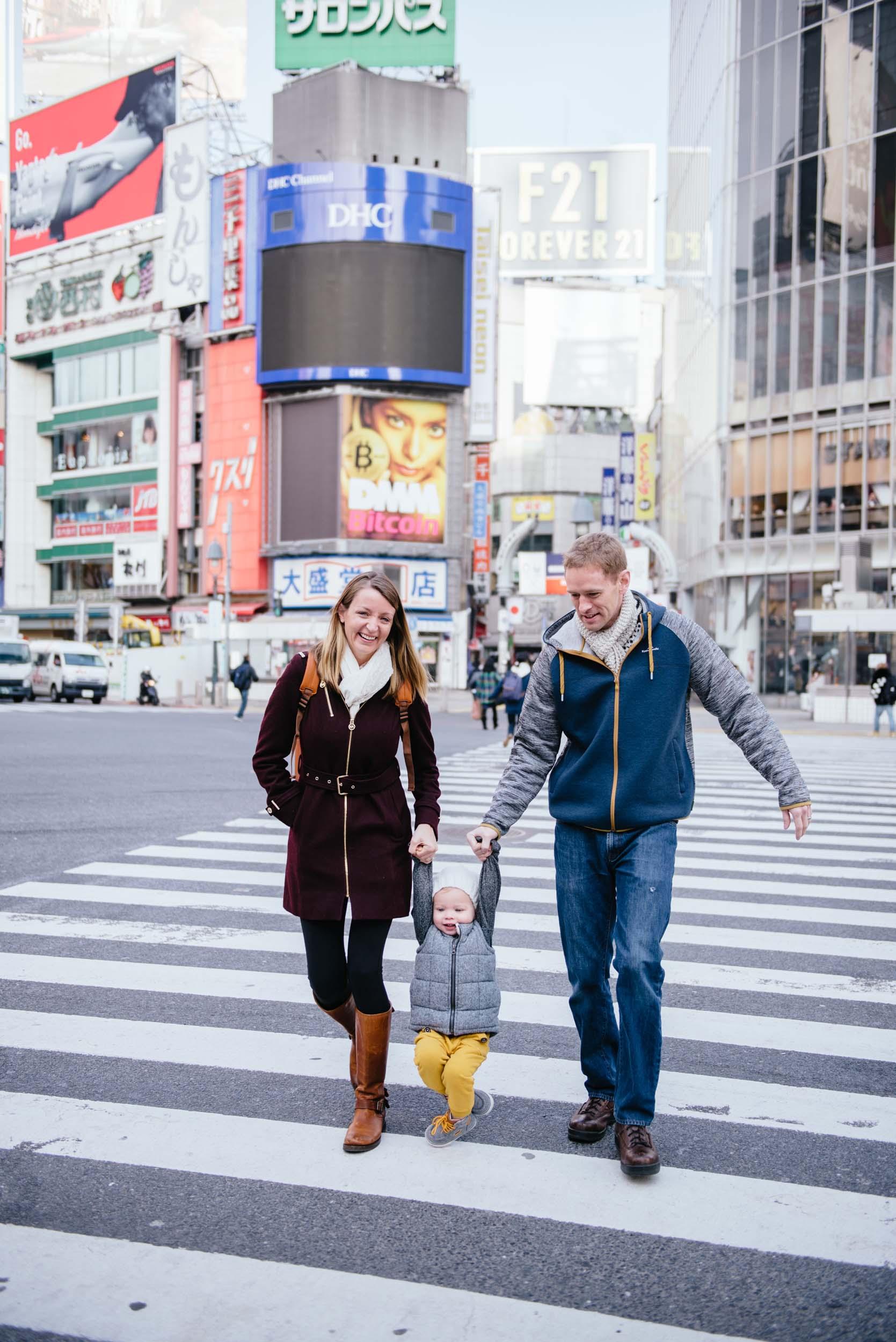 Flytographer Daniel in Tokyo