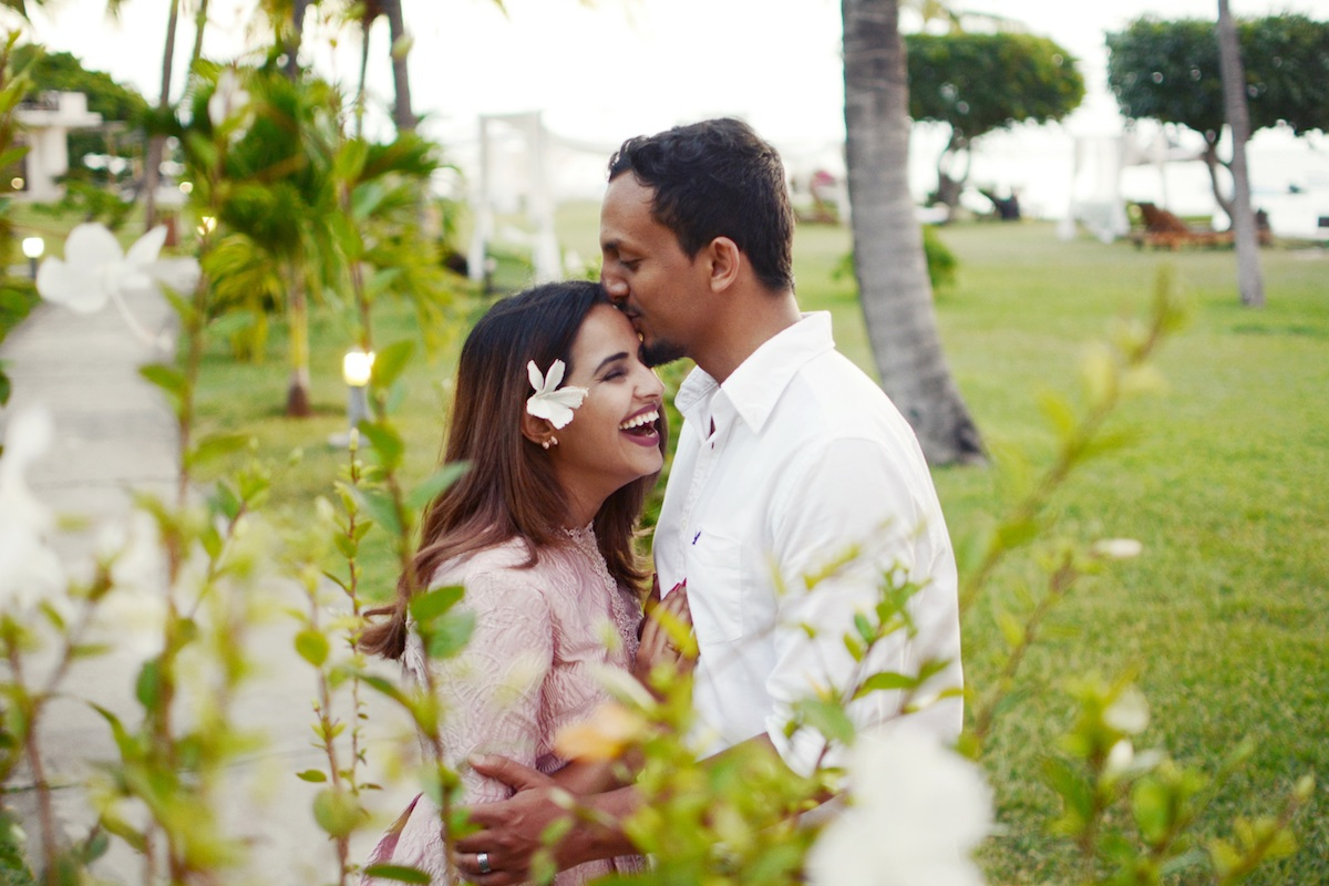 Flytographer Anne-Lise in Mauritius