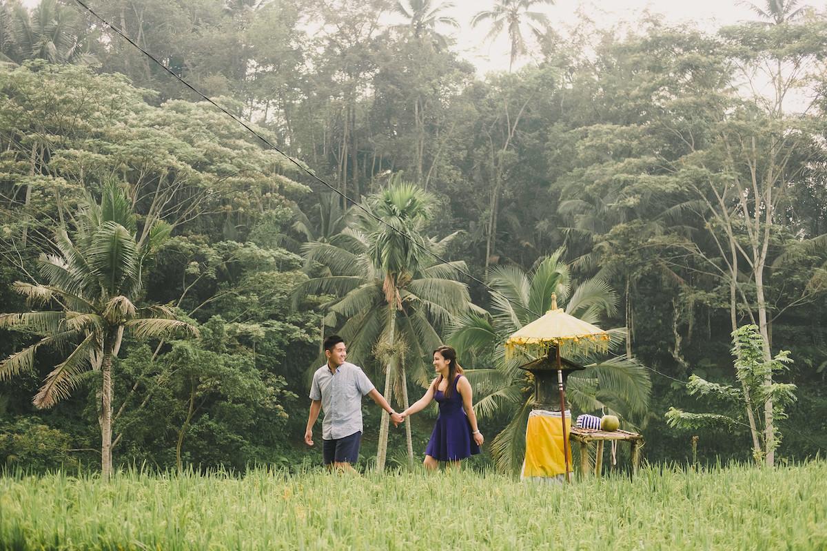 Flytographer Bayu & Ivony in Bali