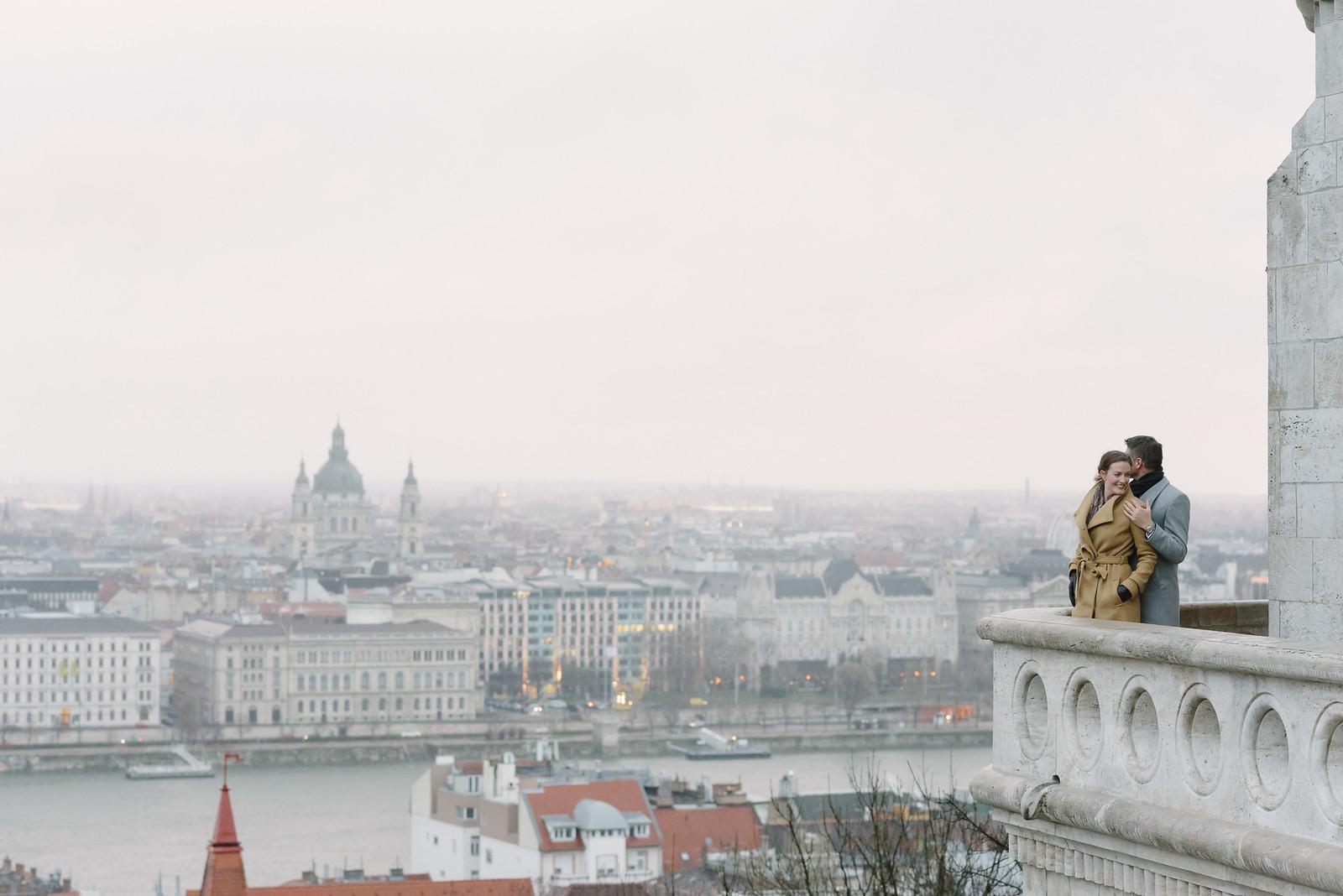Flytographer Dana in Budapest