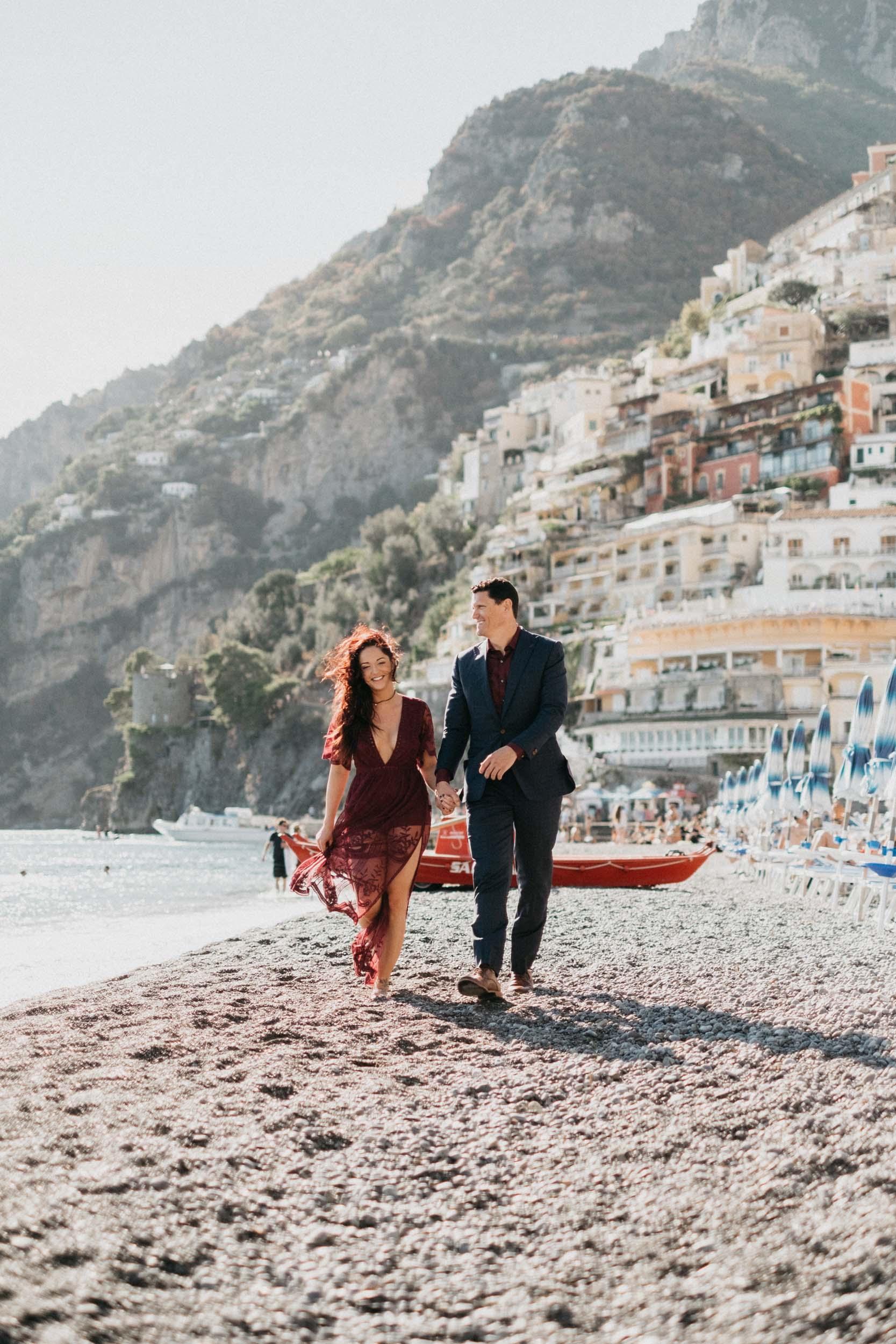 Flytographers Mary & Maurizio in Amalfi Coast