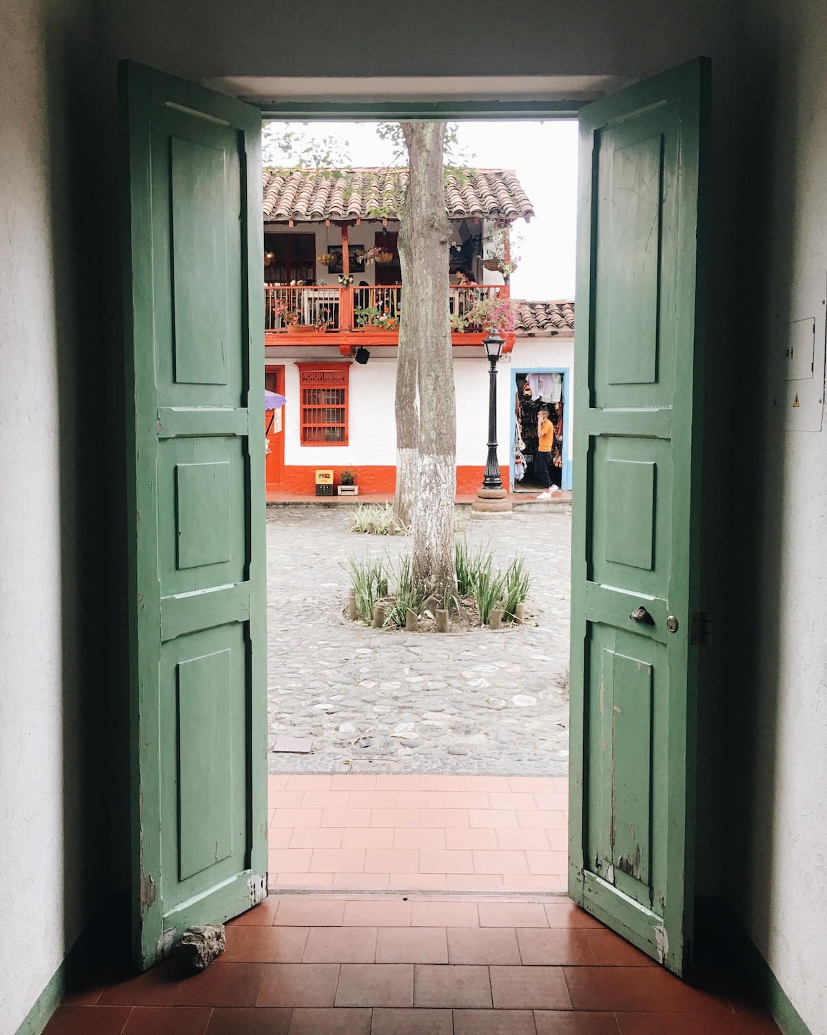 Pueblito Paisa is a recreated town at the top of a hill in the middle of Medellín. One of the best features is the 360-degree view of the whole city from the peak.