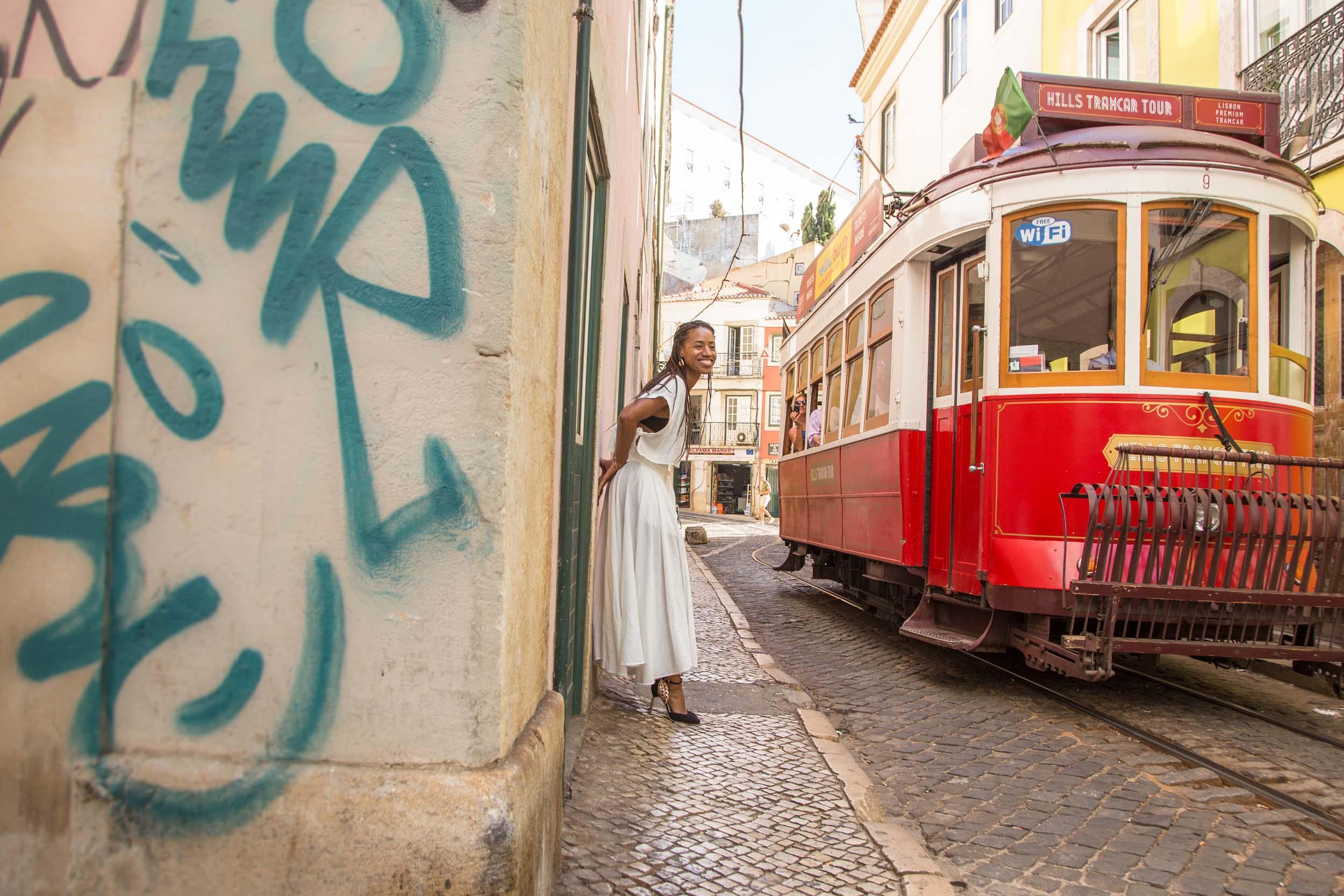 Flytographer Maria in Lisbon