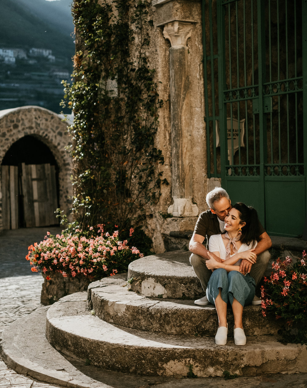 F  lytographers Mary and Maurizio in Ravello