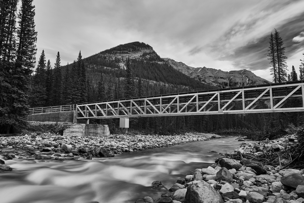 I shot several projects for Ironclad Earthworks this past year. They have replaced many of the bridges that were wiped out here in Banff National Park during the floods of 2013. This is the bridge that was built over the Cascade River in the remote Cascade River Valley. I'm excited to continue shooting for Ironclad in 2016!