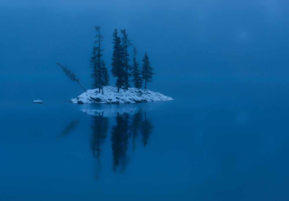 I've always turned to Lake Minnewanka for some quiet time during the late season, just before winters arrival.