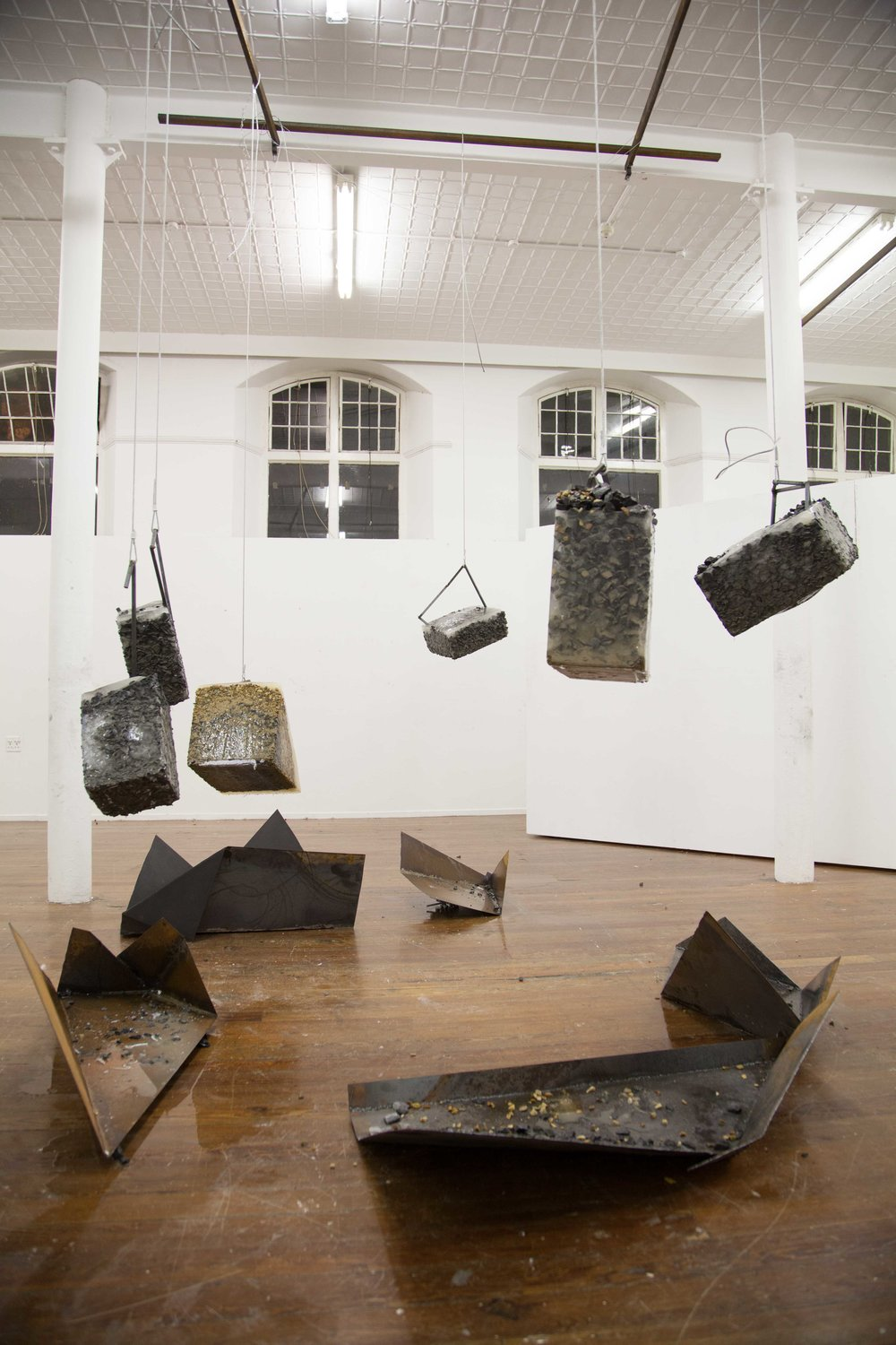 Construction Stasis: A proposal for Dystopia (installation view)