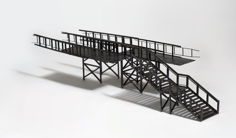 Entrance to the City, 700x300x200mm, mild steel, 2012.jpg